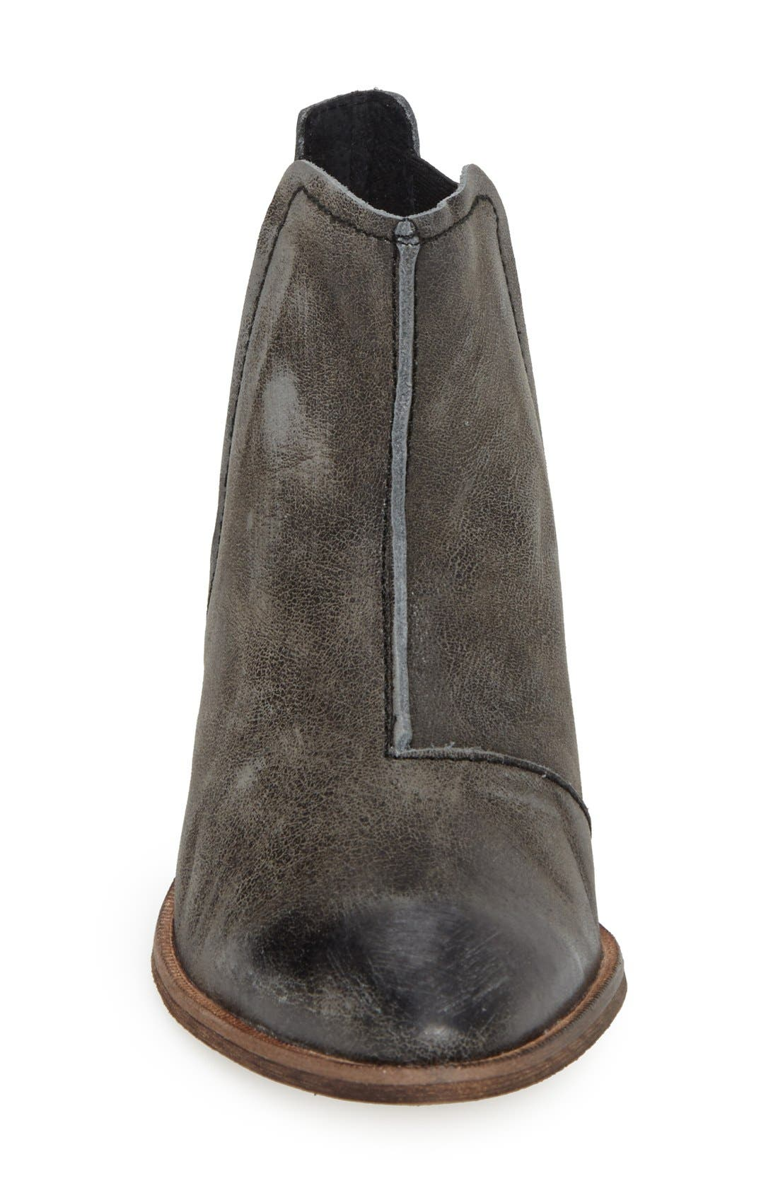 'Dark Horse' Pointy Toe Bootie,                             Alternate thumbnail 2, color,                             001
