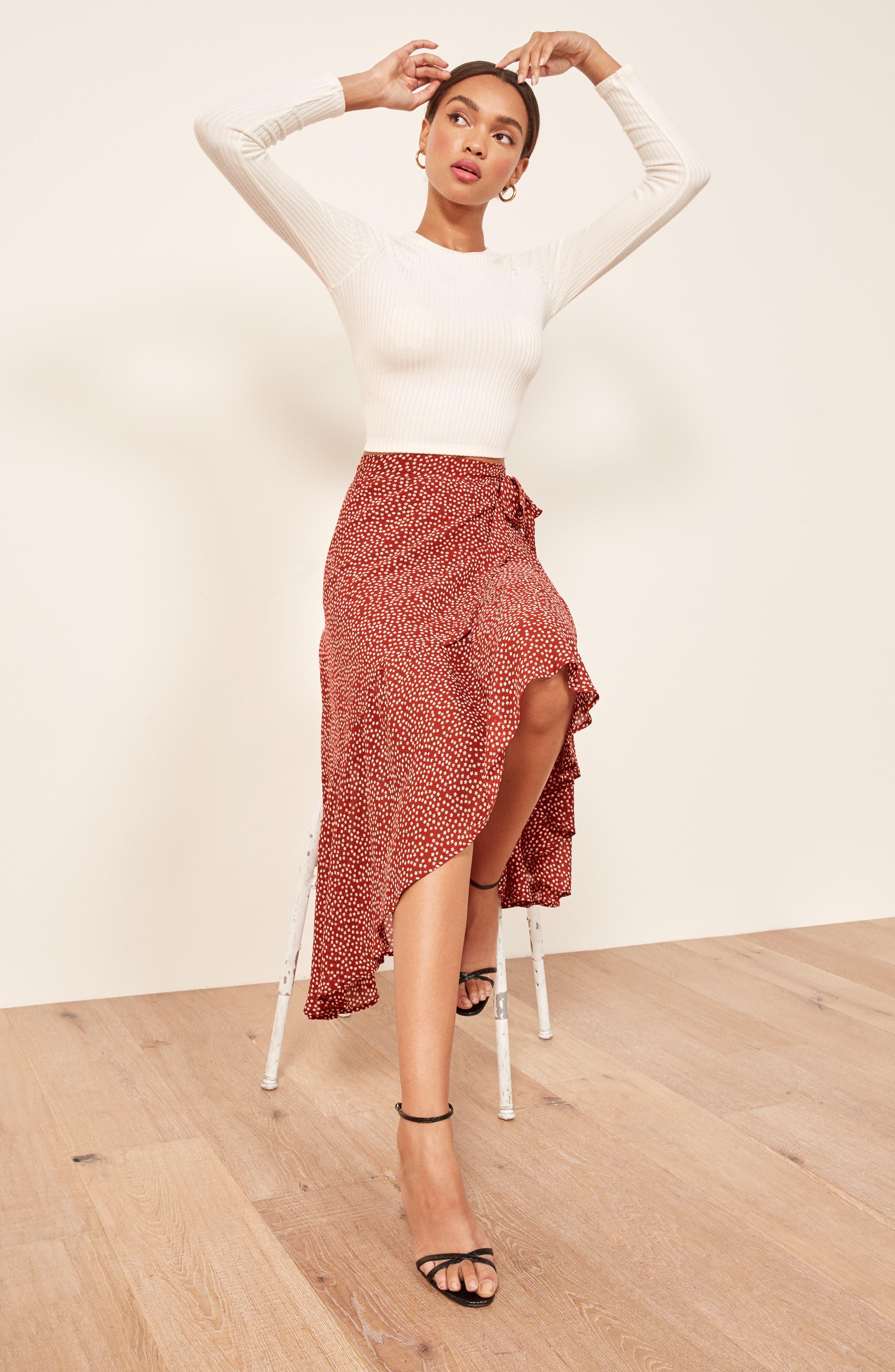 Annaliese Wrap Skirt,                             Alternate thumbnail 2, color,                             600