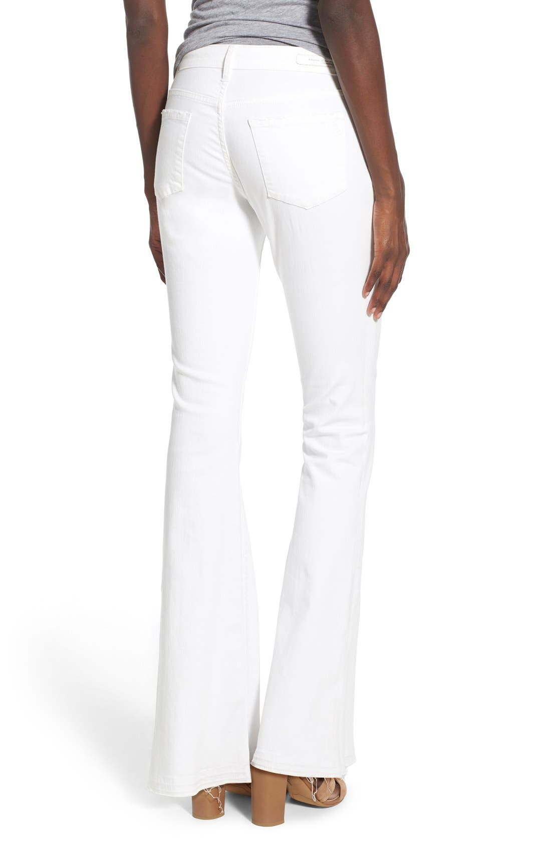 ARTICLES OF SOCIETY,                             'Faith' Flare Jeans,                             Alternate thumbnail 5, color,                             120