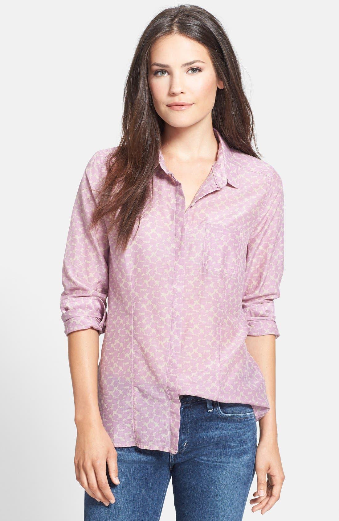 Cotton & Silk Shirt,                             Main thumbnail 37, color,