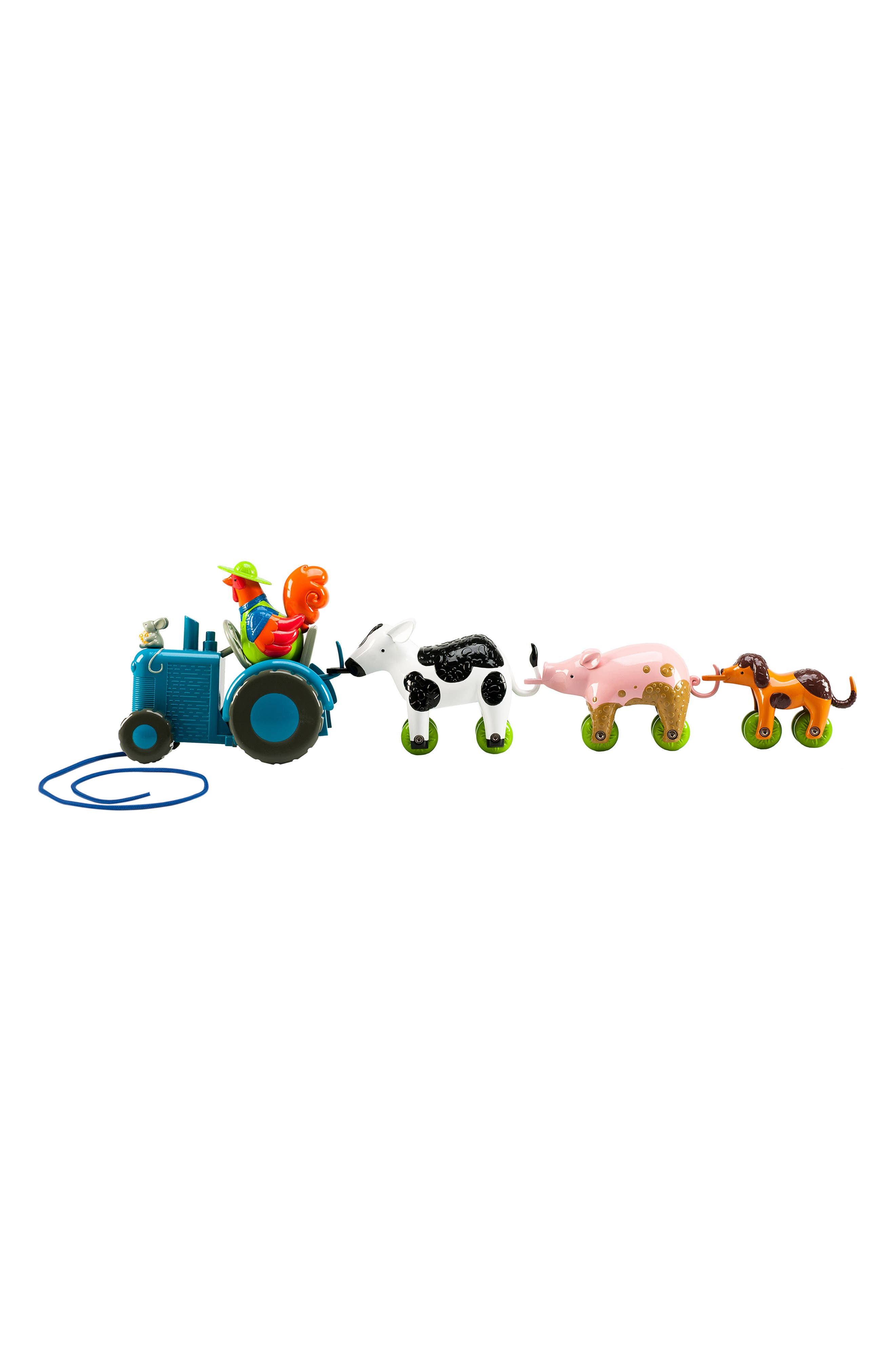 Bright Basics<sup>™</sup> Tractor Pull Toy,                         Main,                         color, MULTI