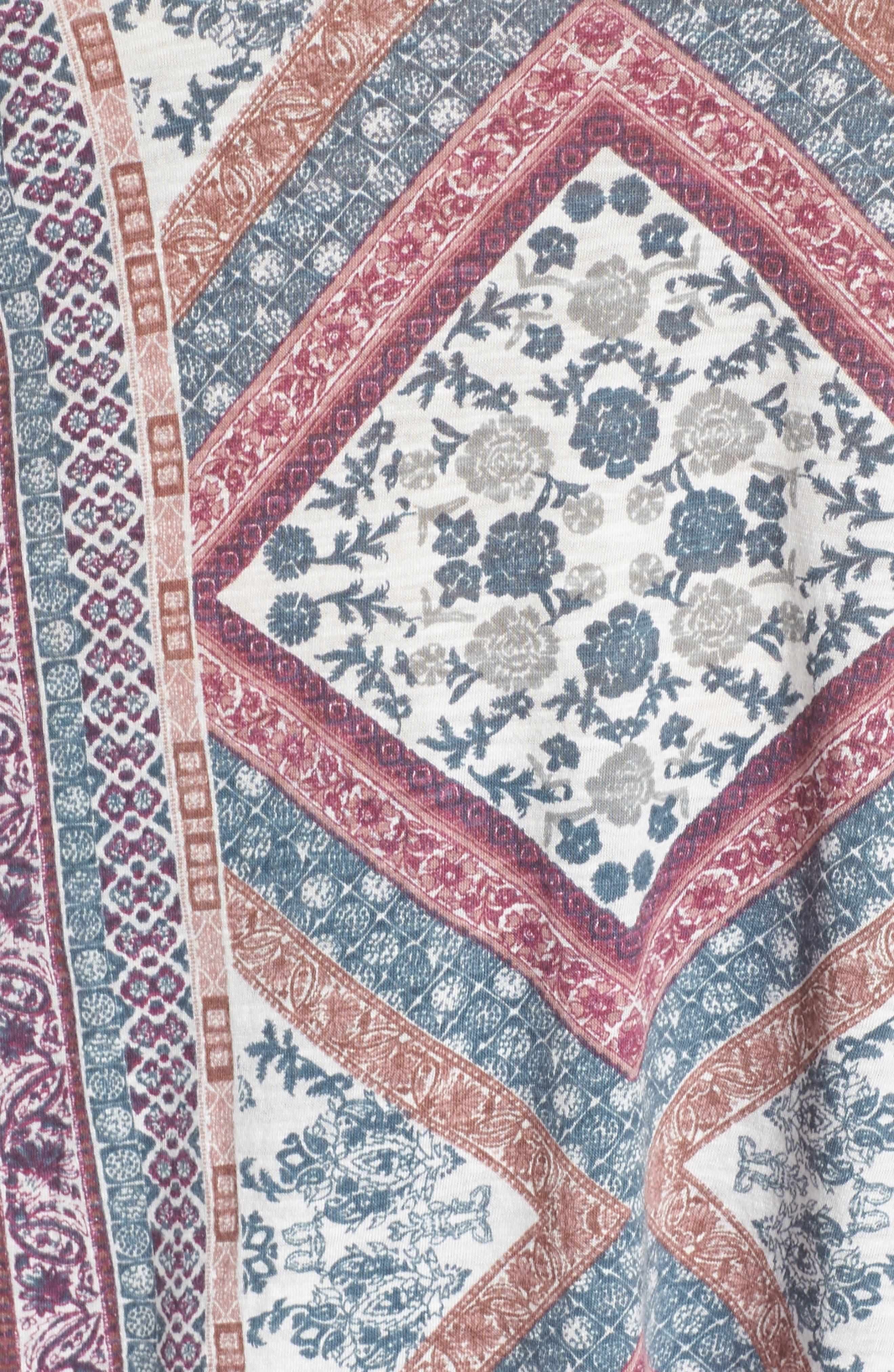 Tapestry Blouse,                             Alternate thumbnail 5, color,                             430