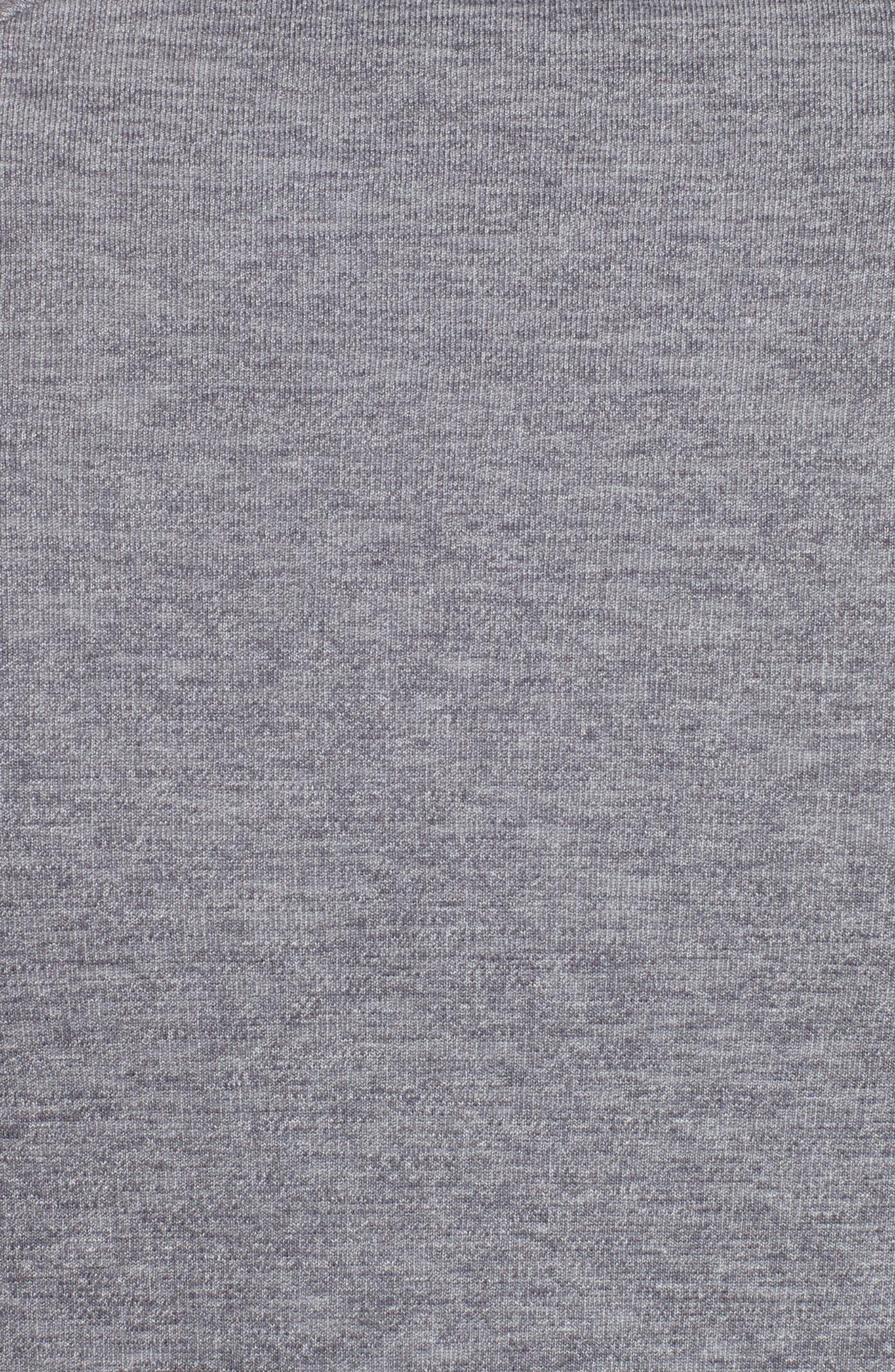 UNDER ARMOUR,                             Sportstyle 2x Crew Sweatshirt,                             Alternate thumbnail 5, color,                             STEEL