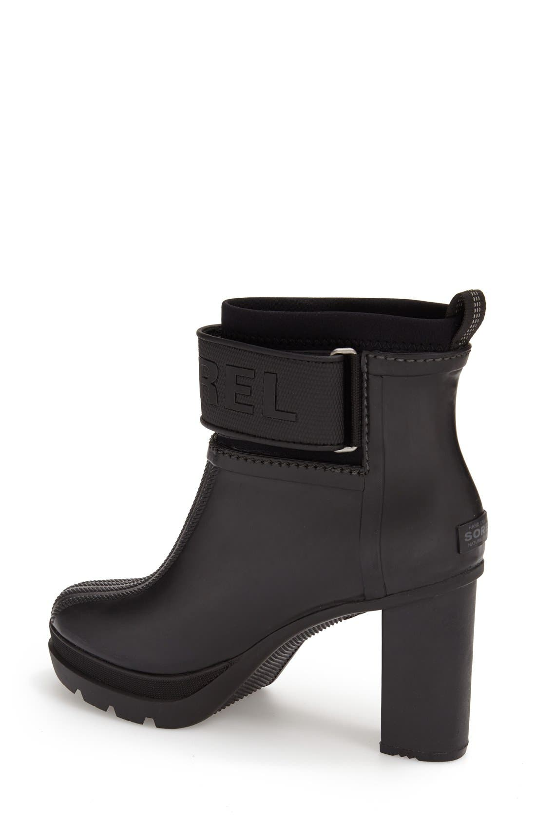 'Medina III' Waterproof Bootie,                             Alternate thumbnail 4, color,                             010
