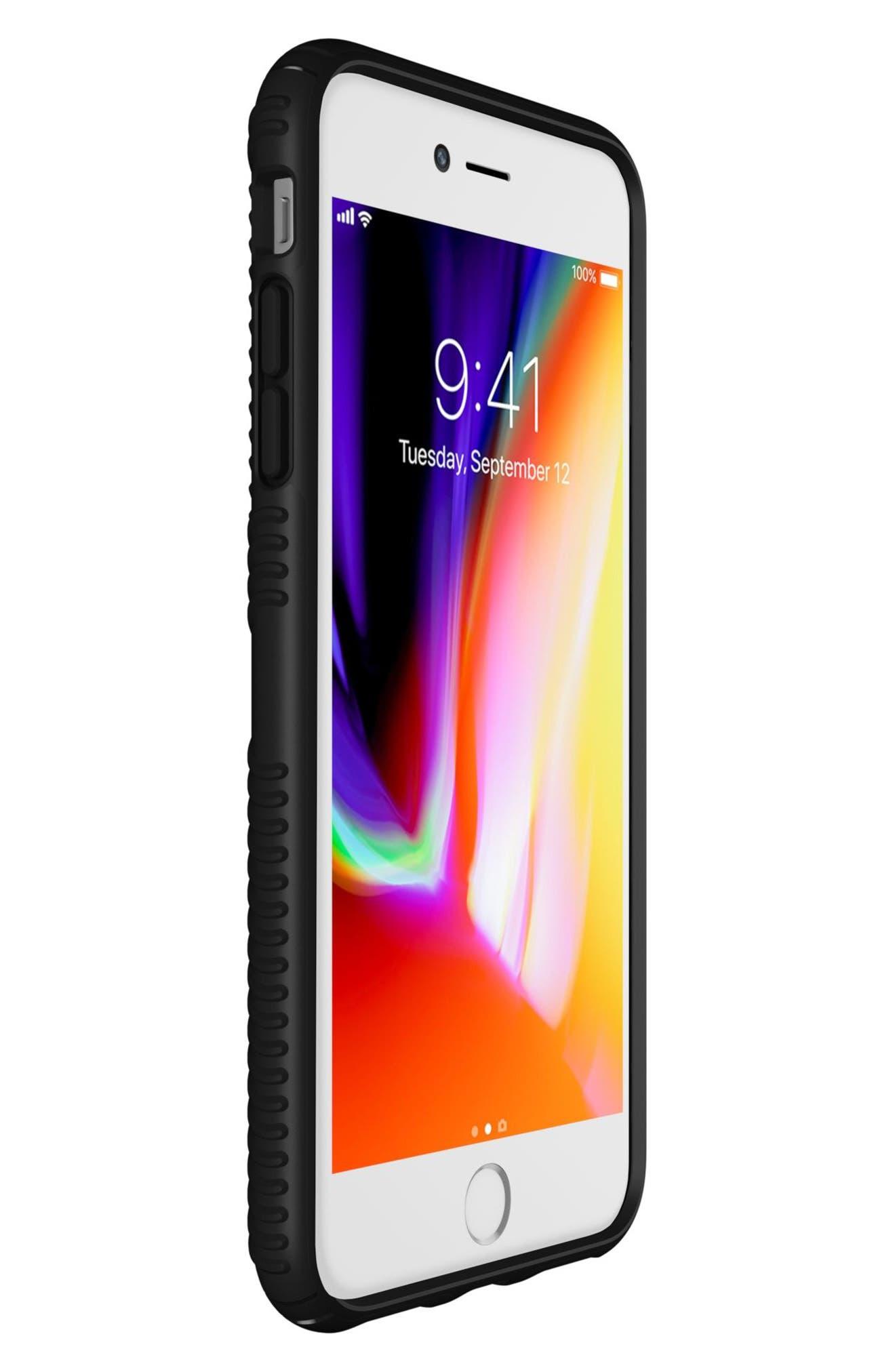SPECK,                             Grip iPhone 6/6s/7/8 Plus Case,                             Alternate thumbnail 4, color,                             001