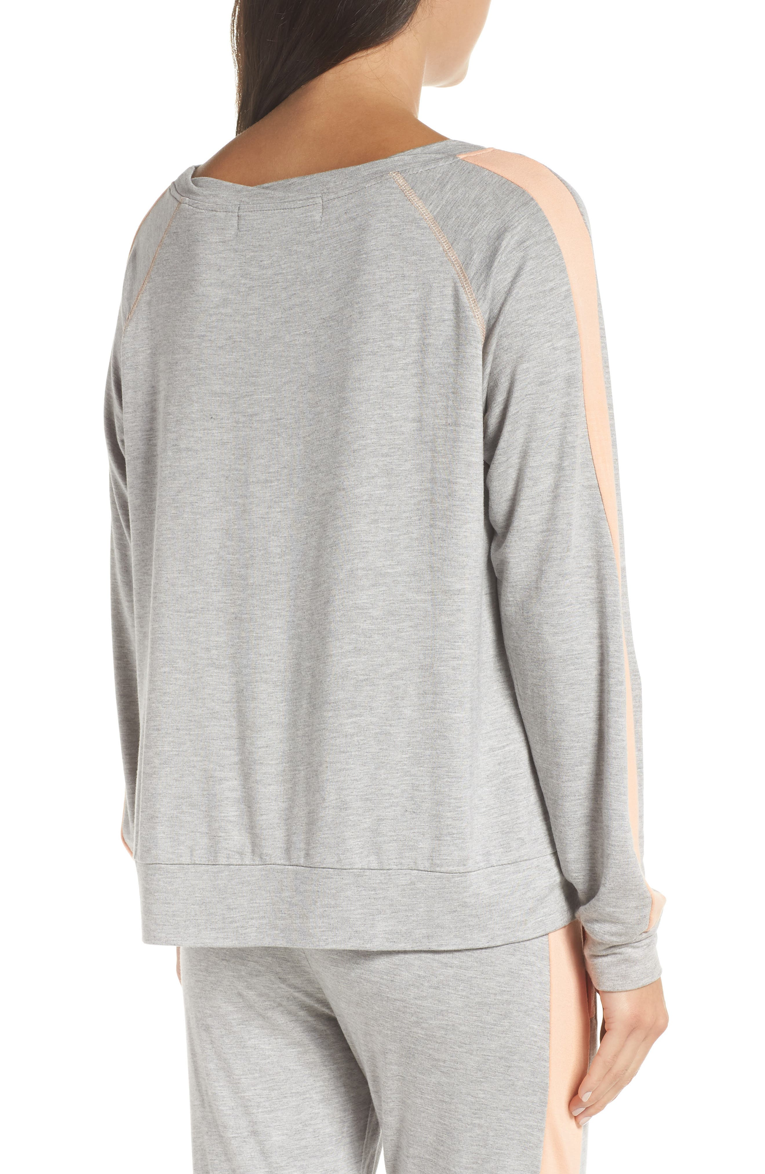 Elevens Sweatshirt,                             Alternate thumbnail 2, color,                             HEATHER / PEACH