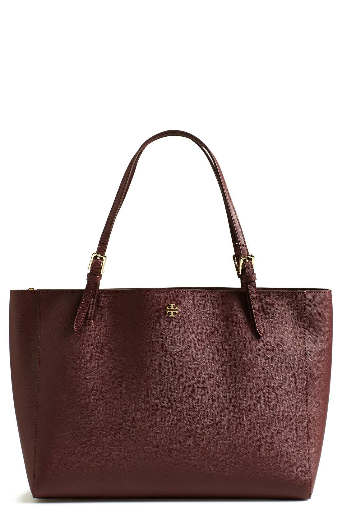 'York' Buckle Tote,                             Main thumbnail 9, color,