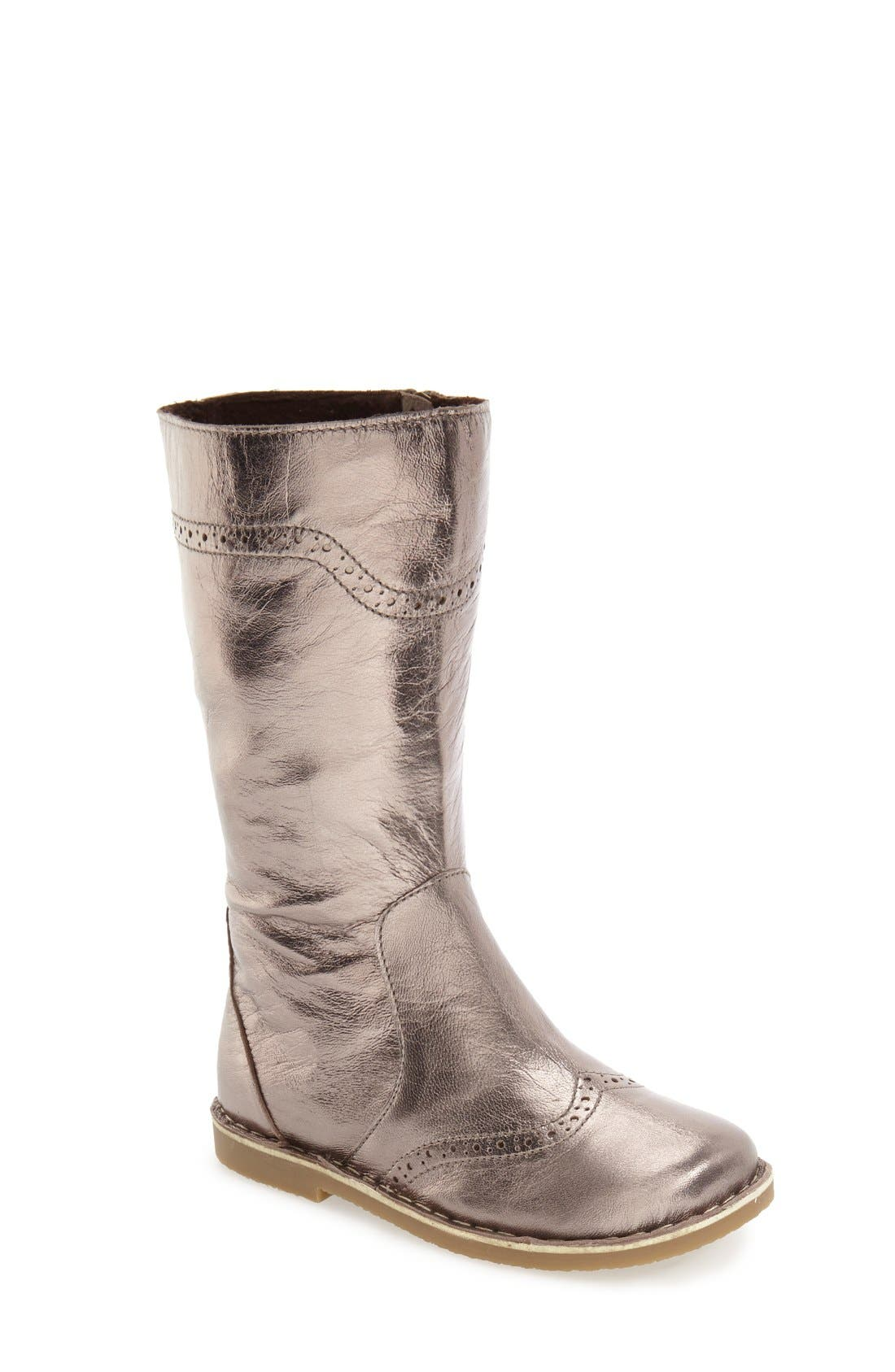 Tall Leather Boot,                             Main thumbnail 3, color,
