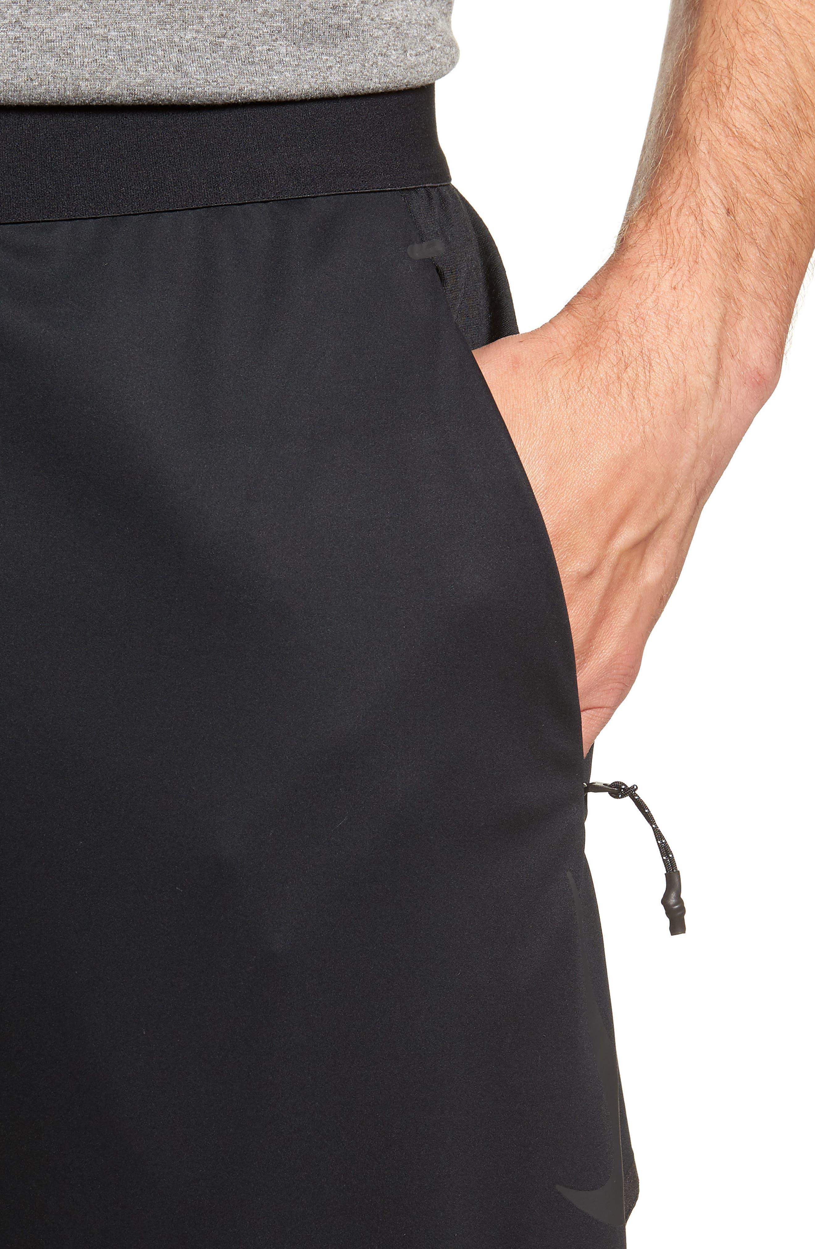 Training Flex Pants,                             Alternate thumbnail 4, color,                             BLACK/ BLACK