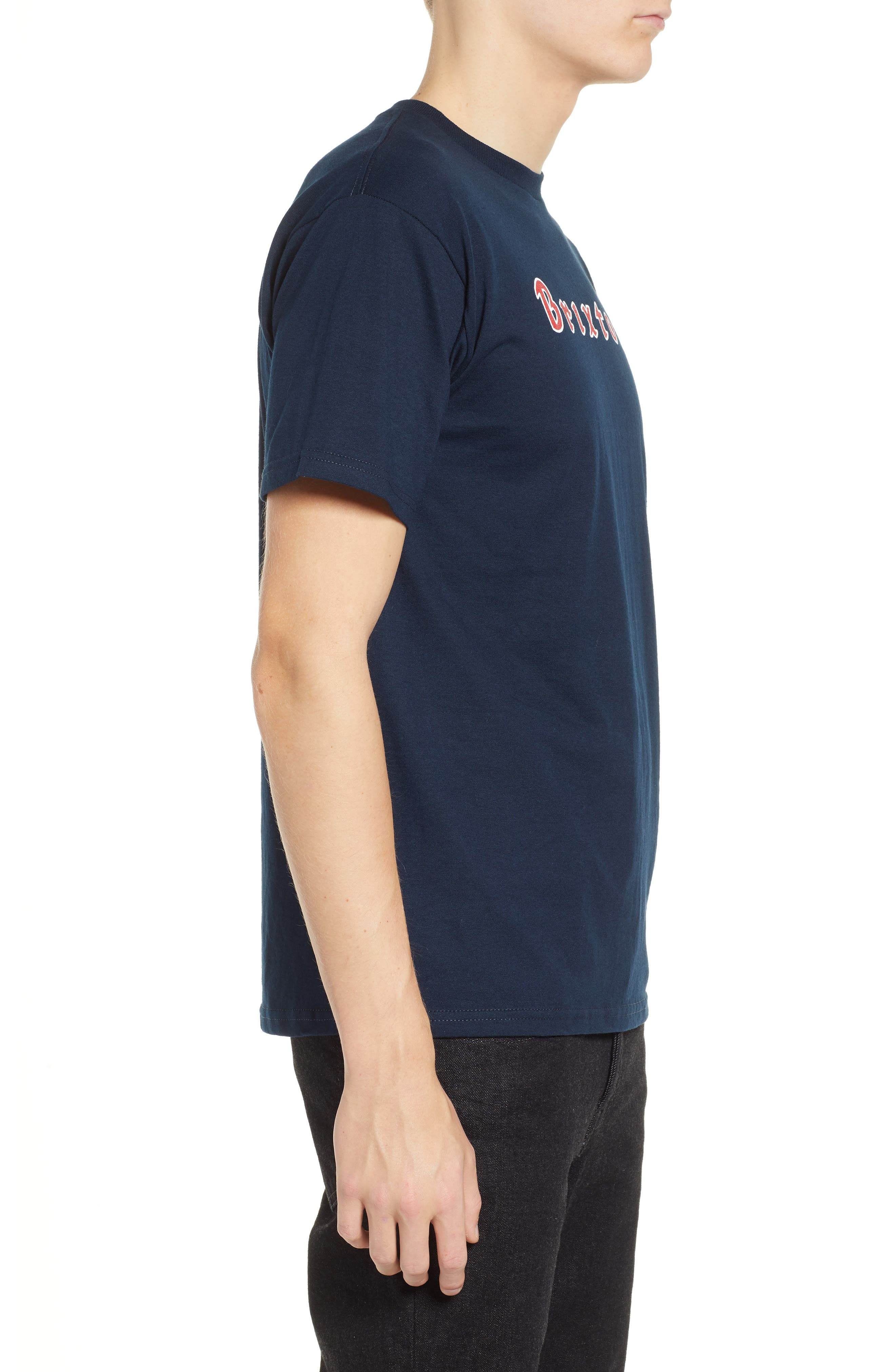 Proxy Short Sleeve Logo T-Shirt,                             Alternate thumbnail 3, color,                             NAVY