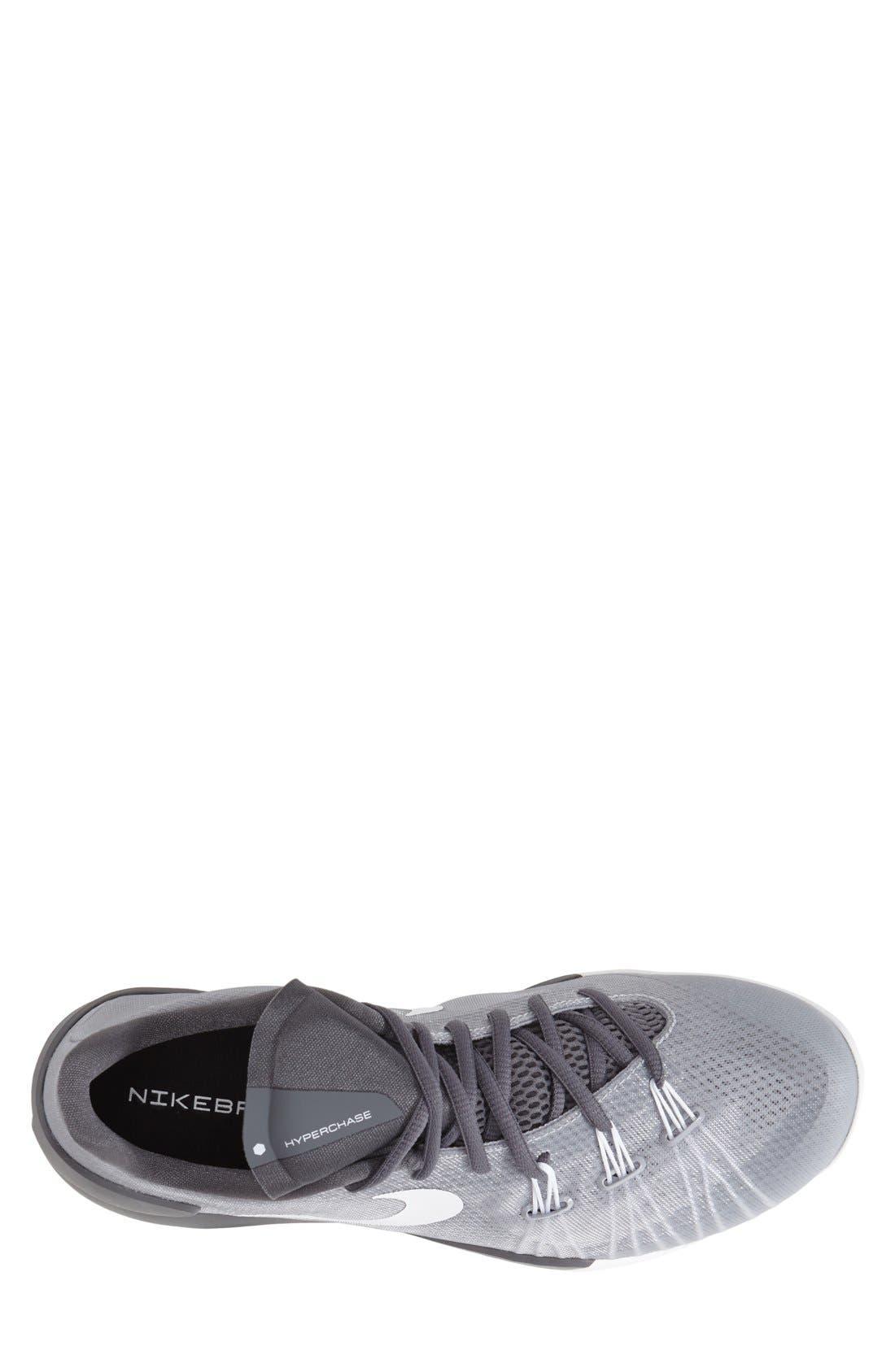 'Hyperchase' Basketball Shoe,                             Alternate thumbnail 3, color,                             090