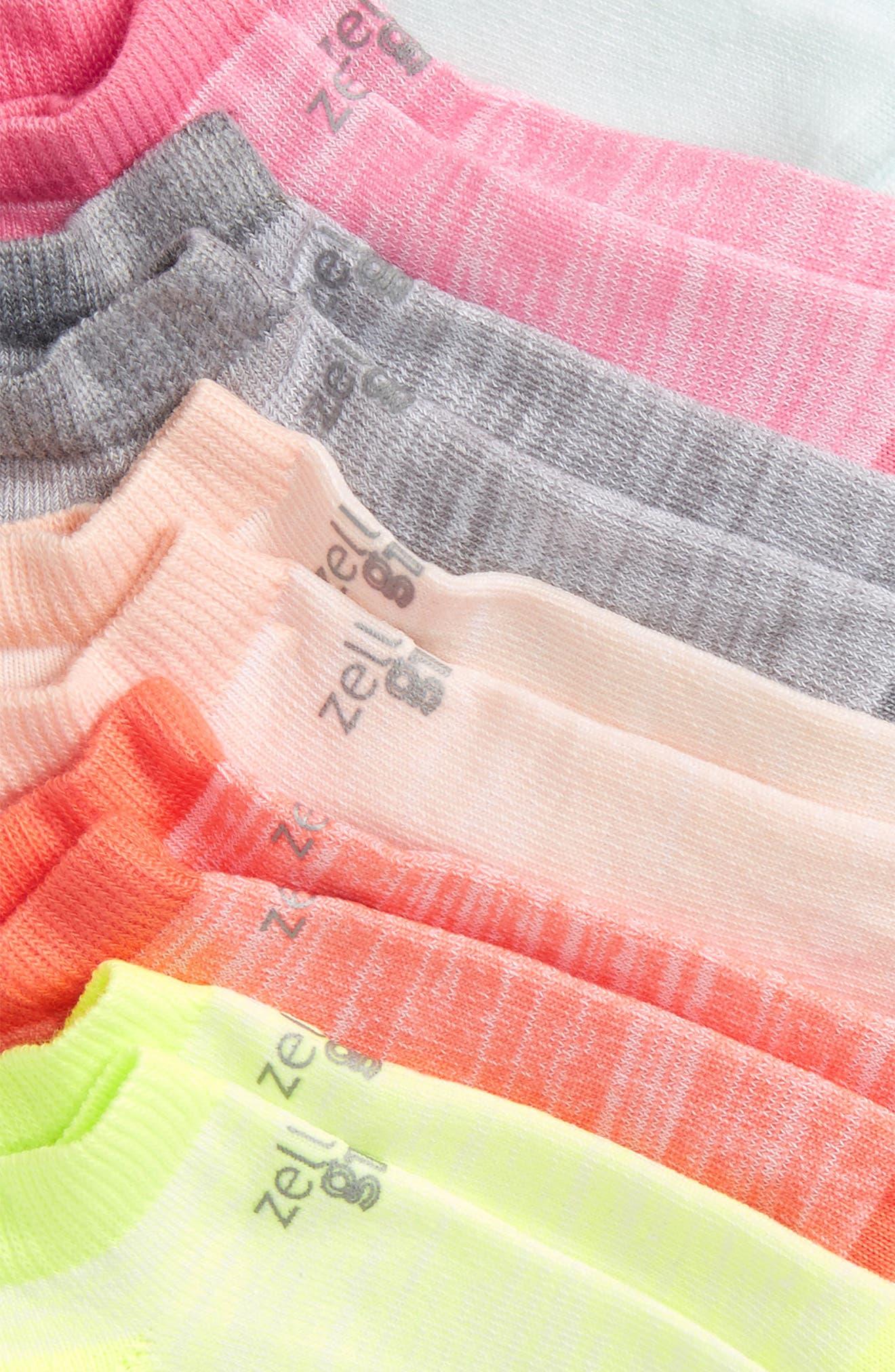 6-Pack Ankle Socks,                             Alternate thumbnail 24, color,