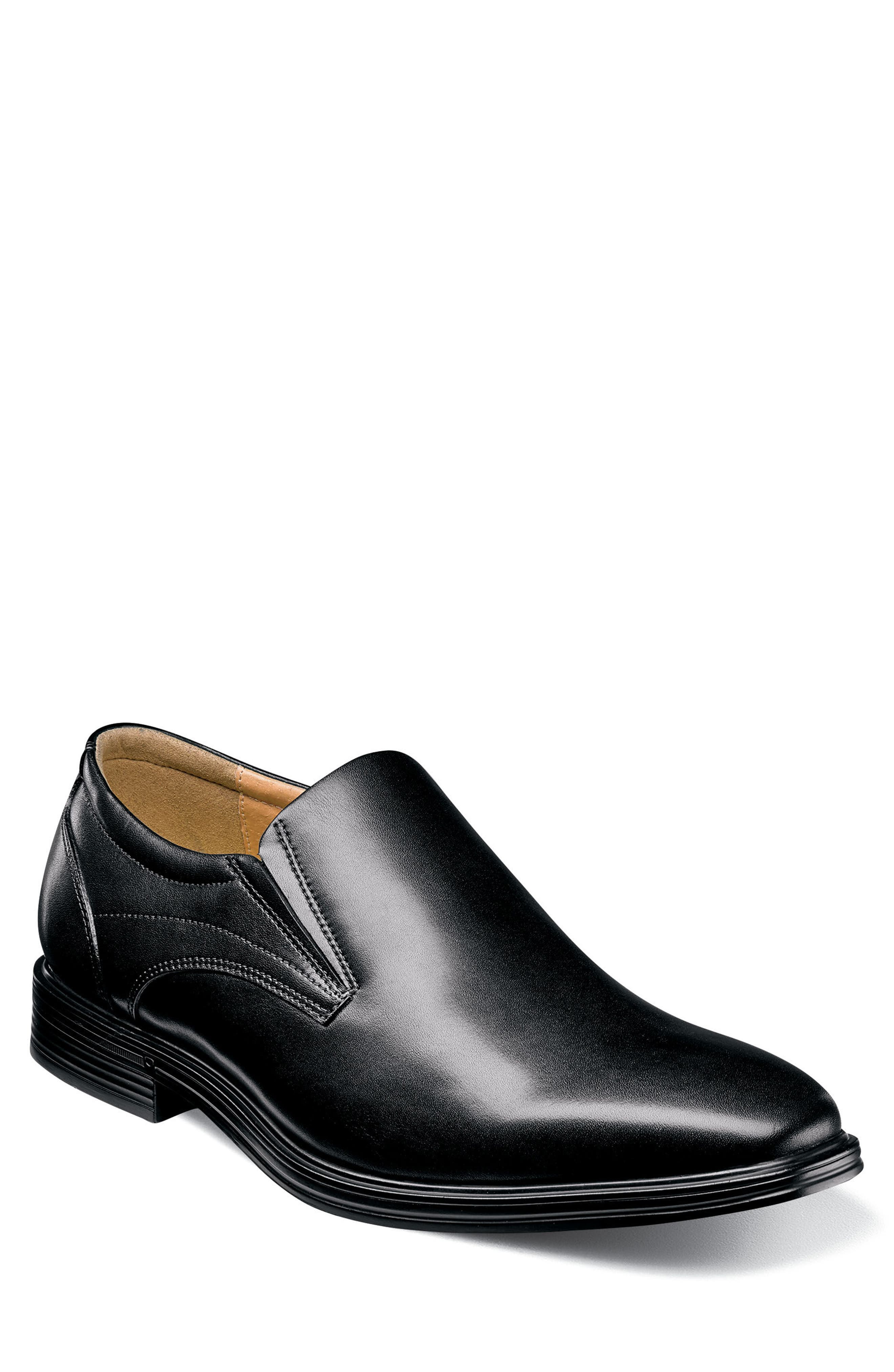 Heights Venetian Loafer,                             Main thumbnail 1, color,                             BLACK