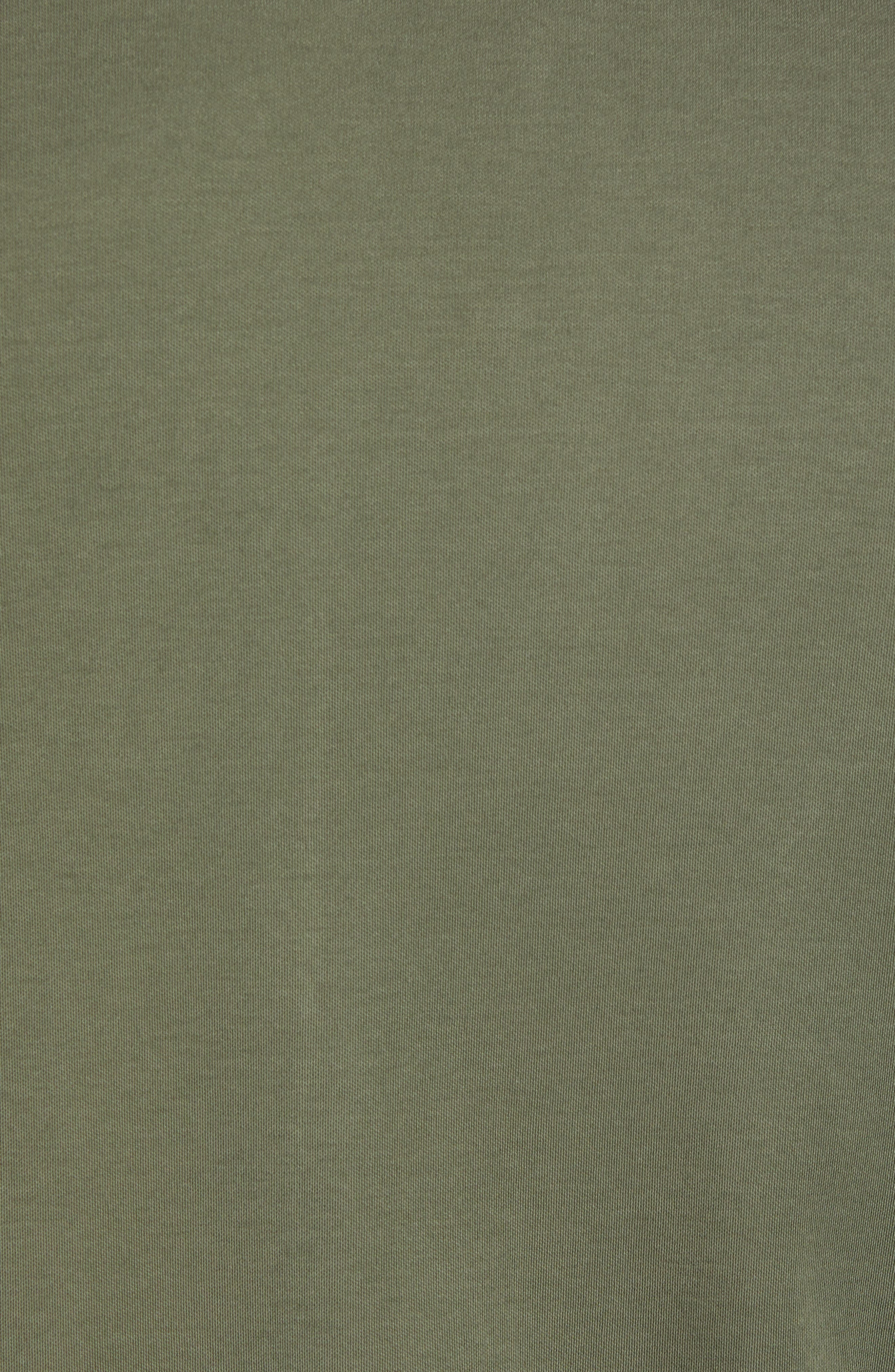 Jelly Slim Fit Tipped Pocket Polo,                             Alternate thumbnail 5, color,                             KHAKI