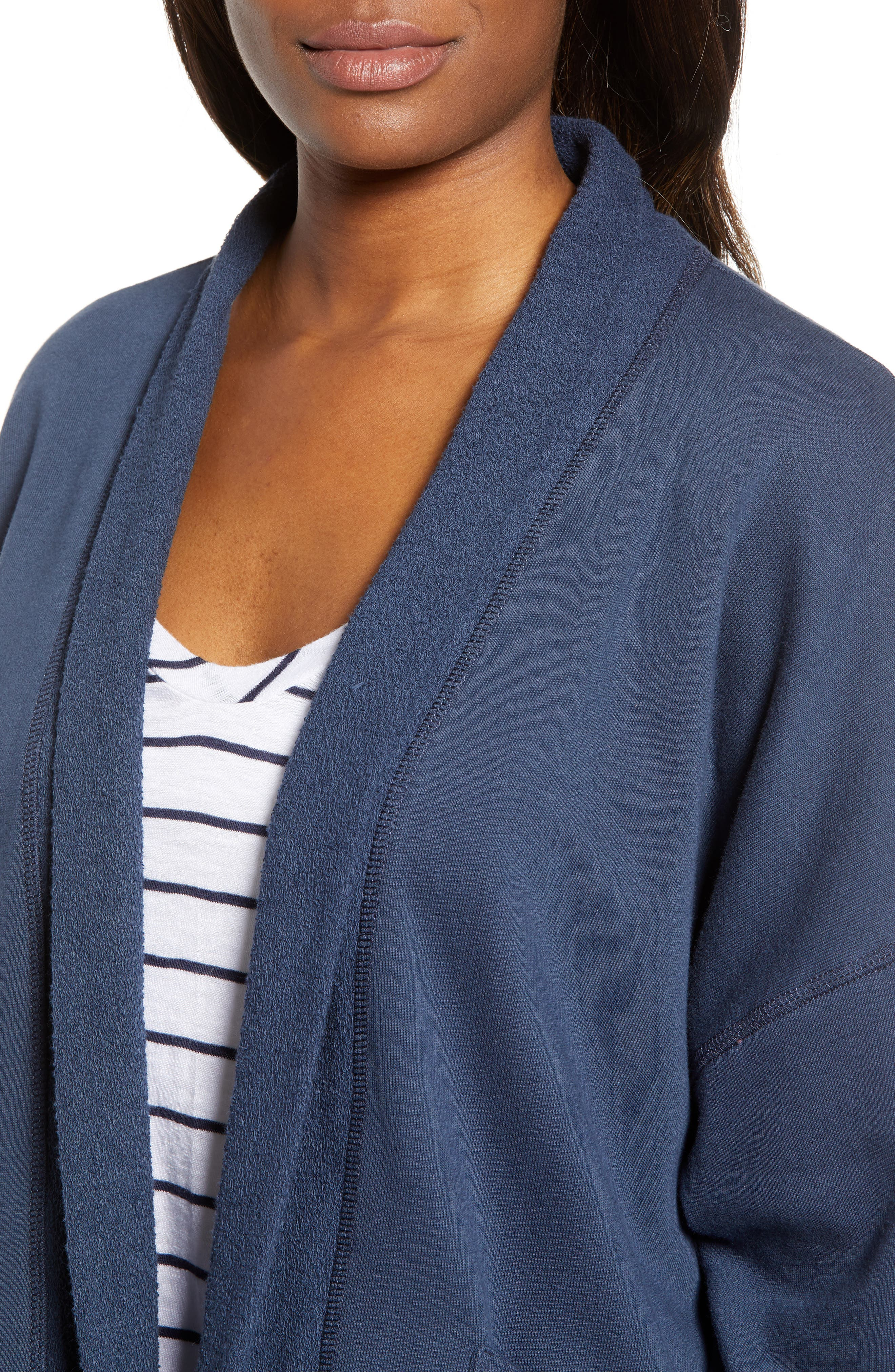 Off-Duty Roll Sleeve Cotton Blend Jacket,                             Alternate thumbnail 13, color,
