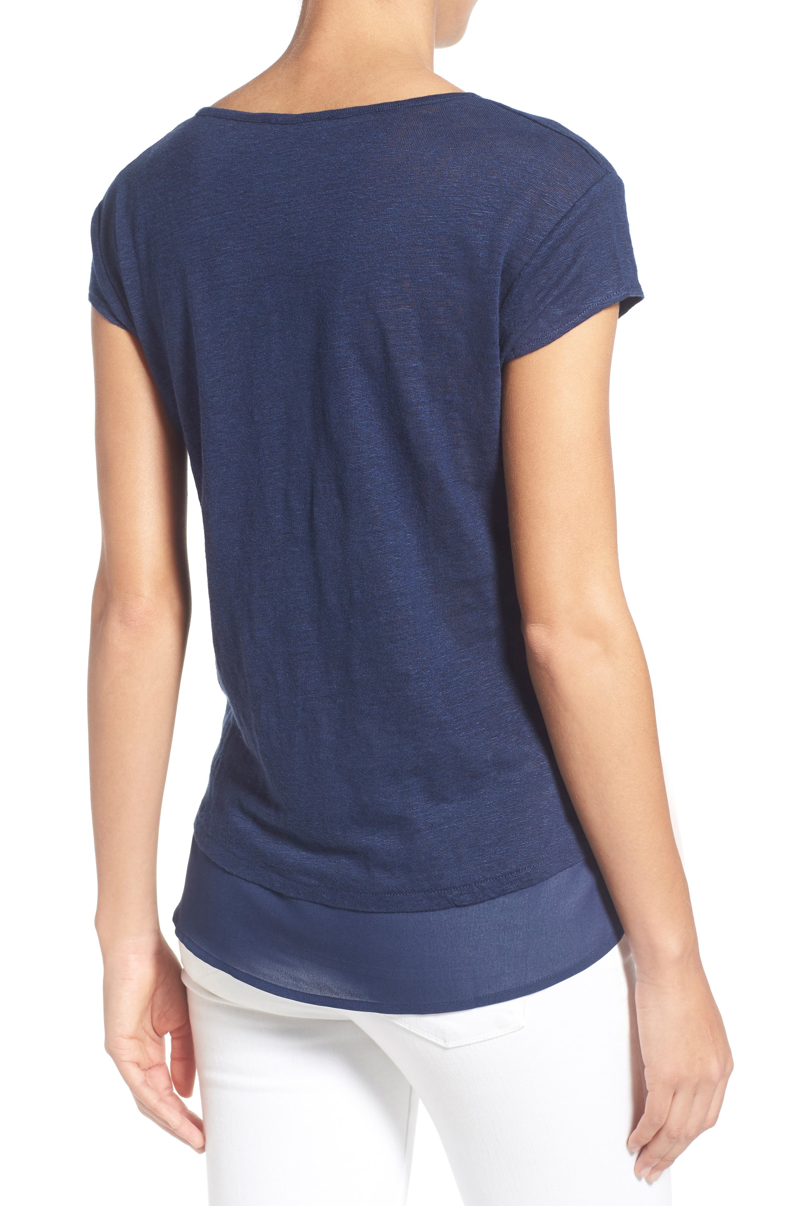 City Mix Layered Look Tee,                             Alternate thumbnail 38, color,
