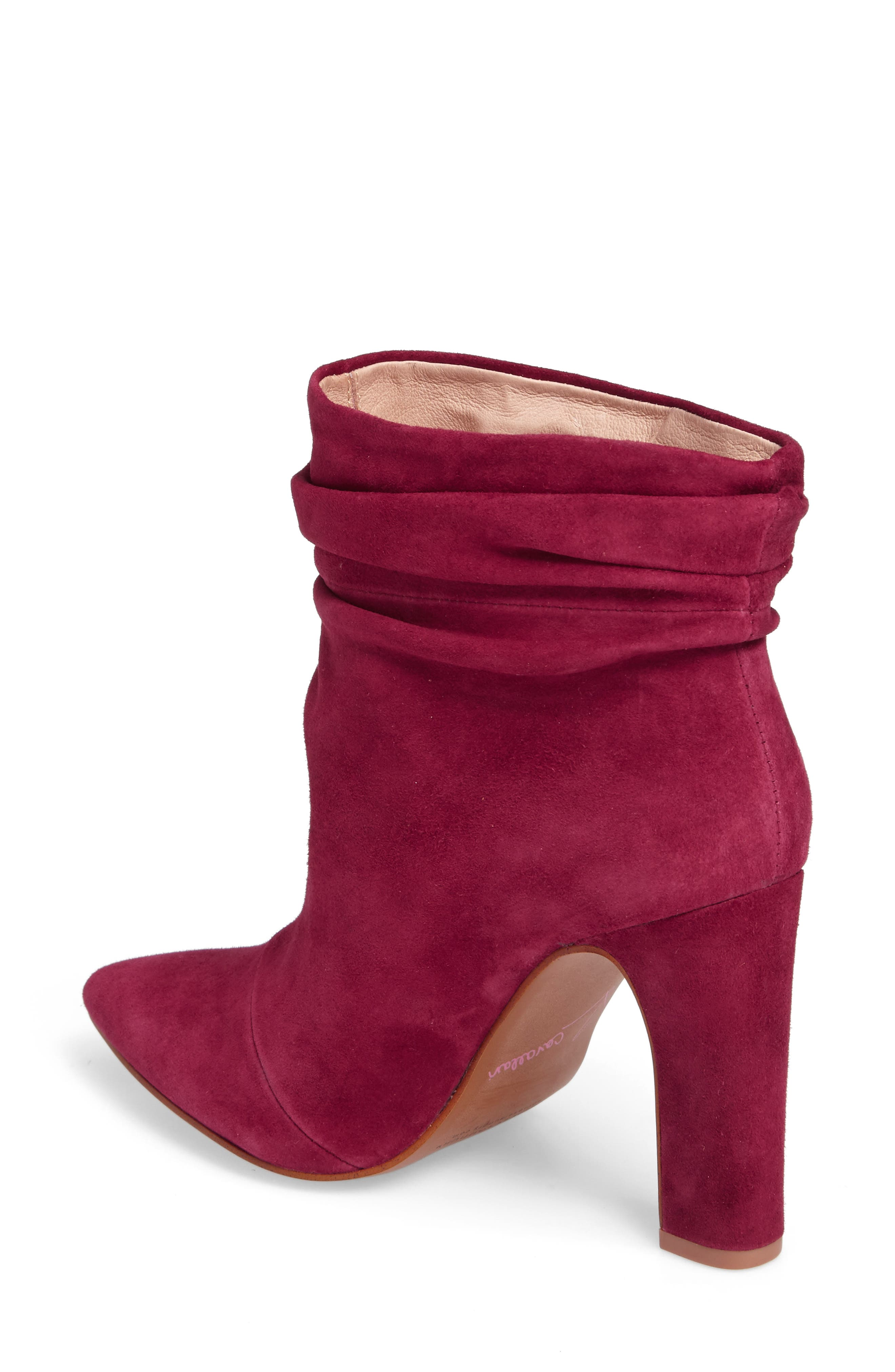 Kane Bootie,                             Alternate thumbnail 2, color,                             RED SUEDE