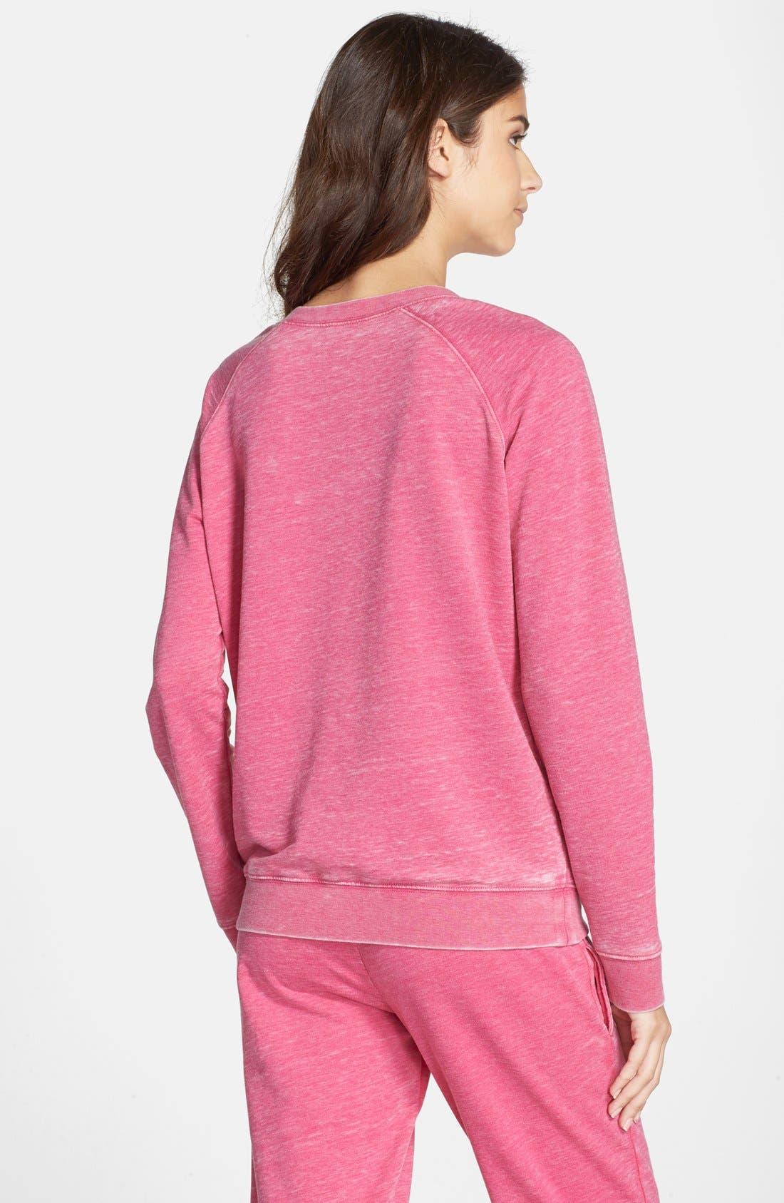 Burnout Lounge Sweatshirt,                             Alternate thumbnail 184, color,