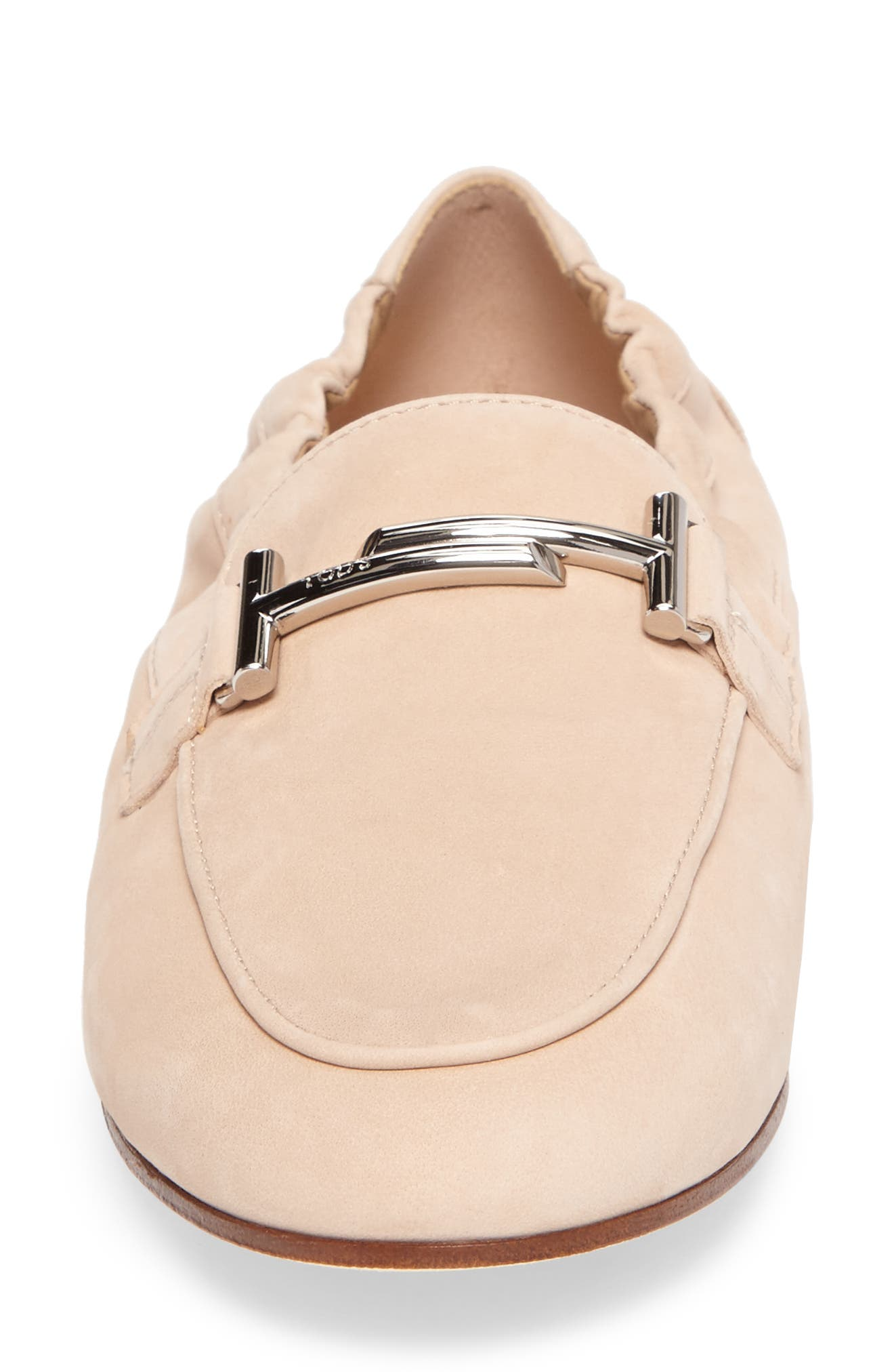 Double T Scrunch Loafer,                             Alternate thumbnail 15, color,