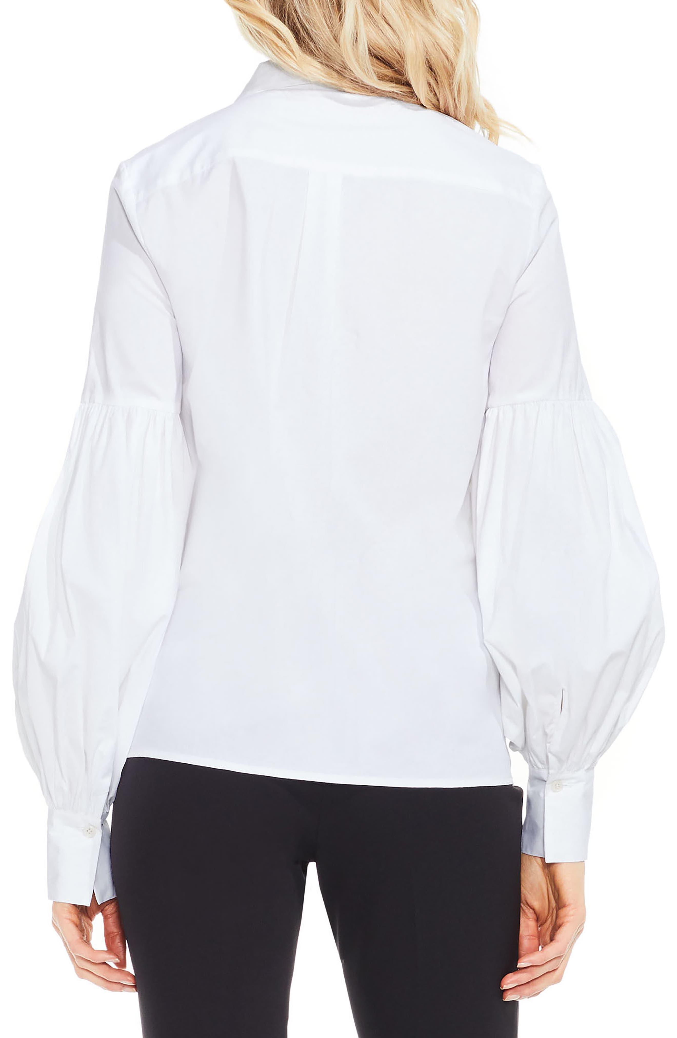 Puff Sleeve Shirt,                             Alternate thumbnail 5, color,