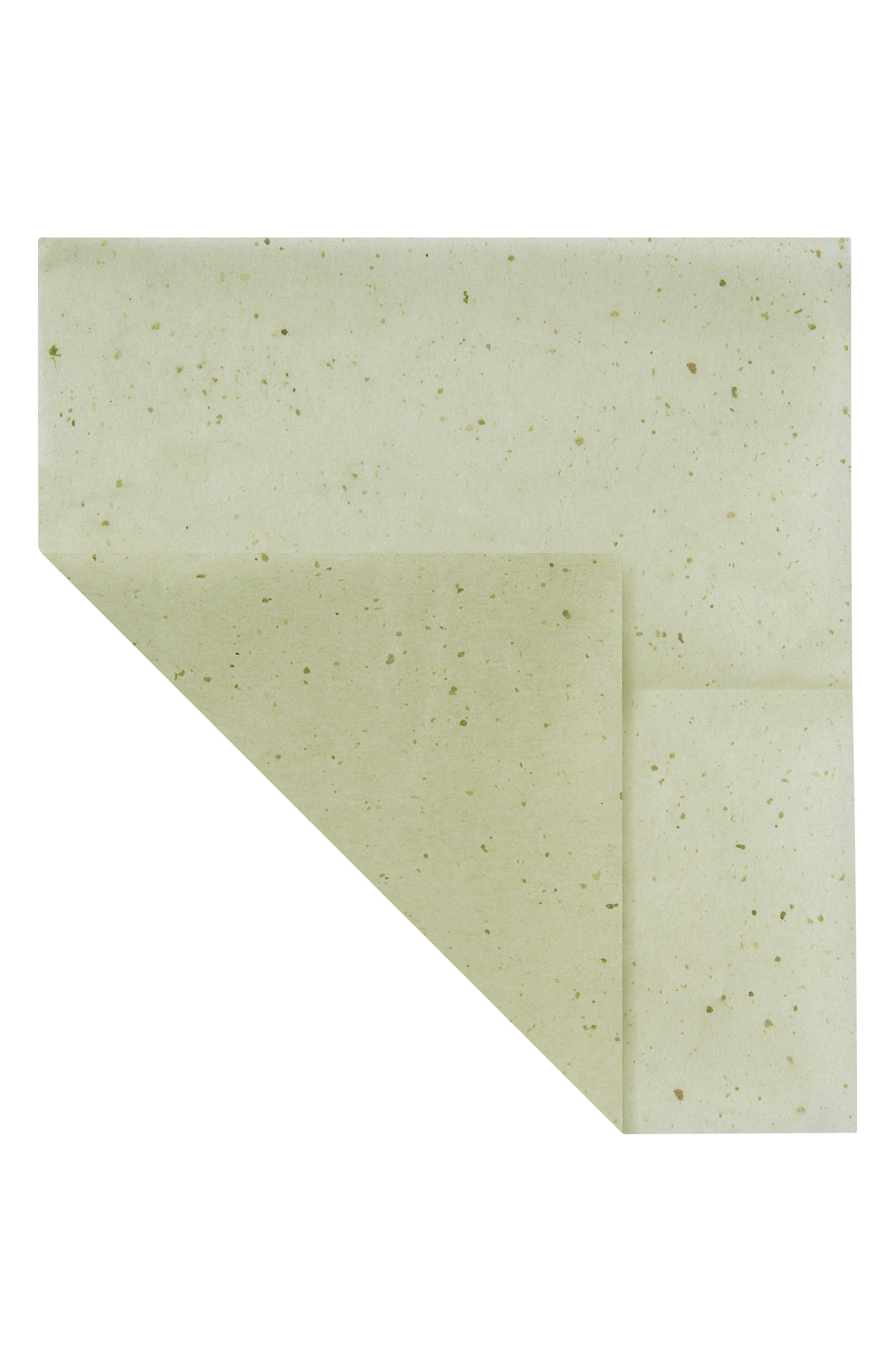 Green Tea Blotting Linens,                             Alternate thumbnail 2, color,                             NO COLOR