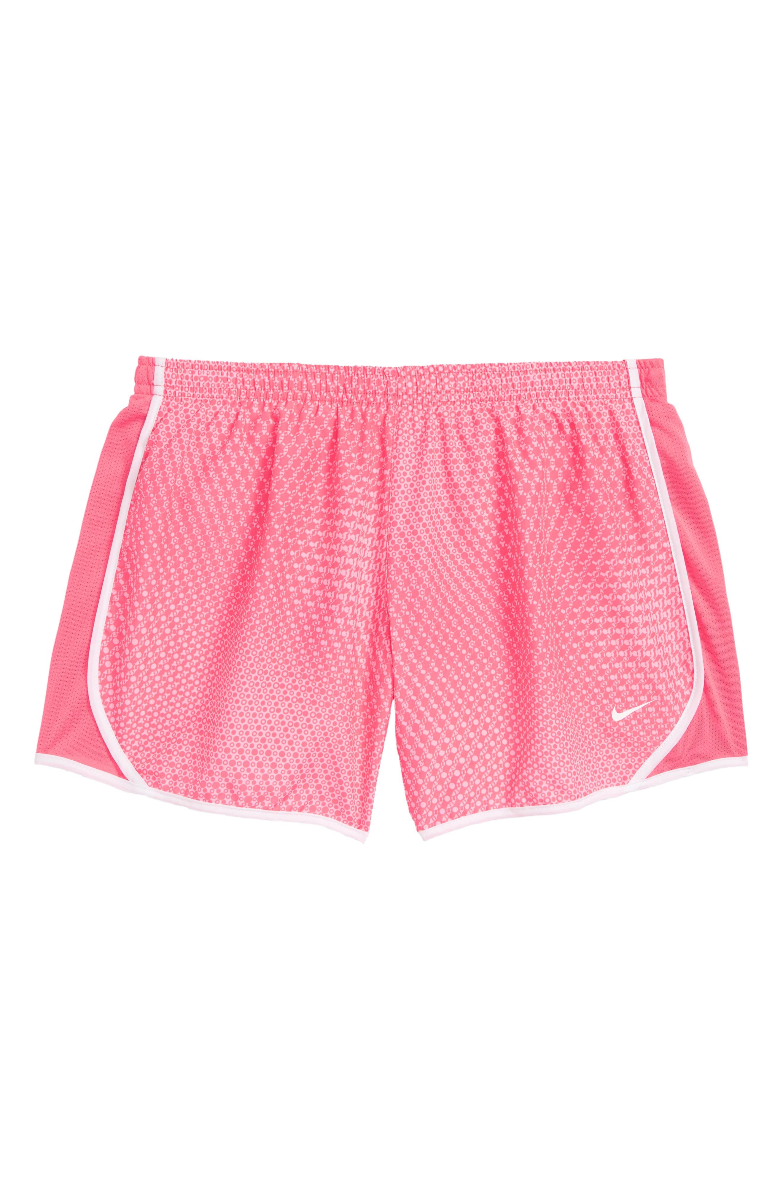 Dry Tempo Shorts,                             Main thumbnail 1, color,                             PINK NEBULA/ WHITE