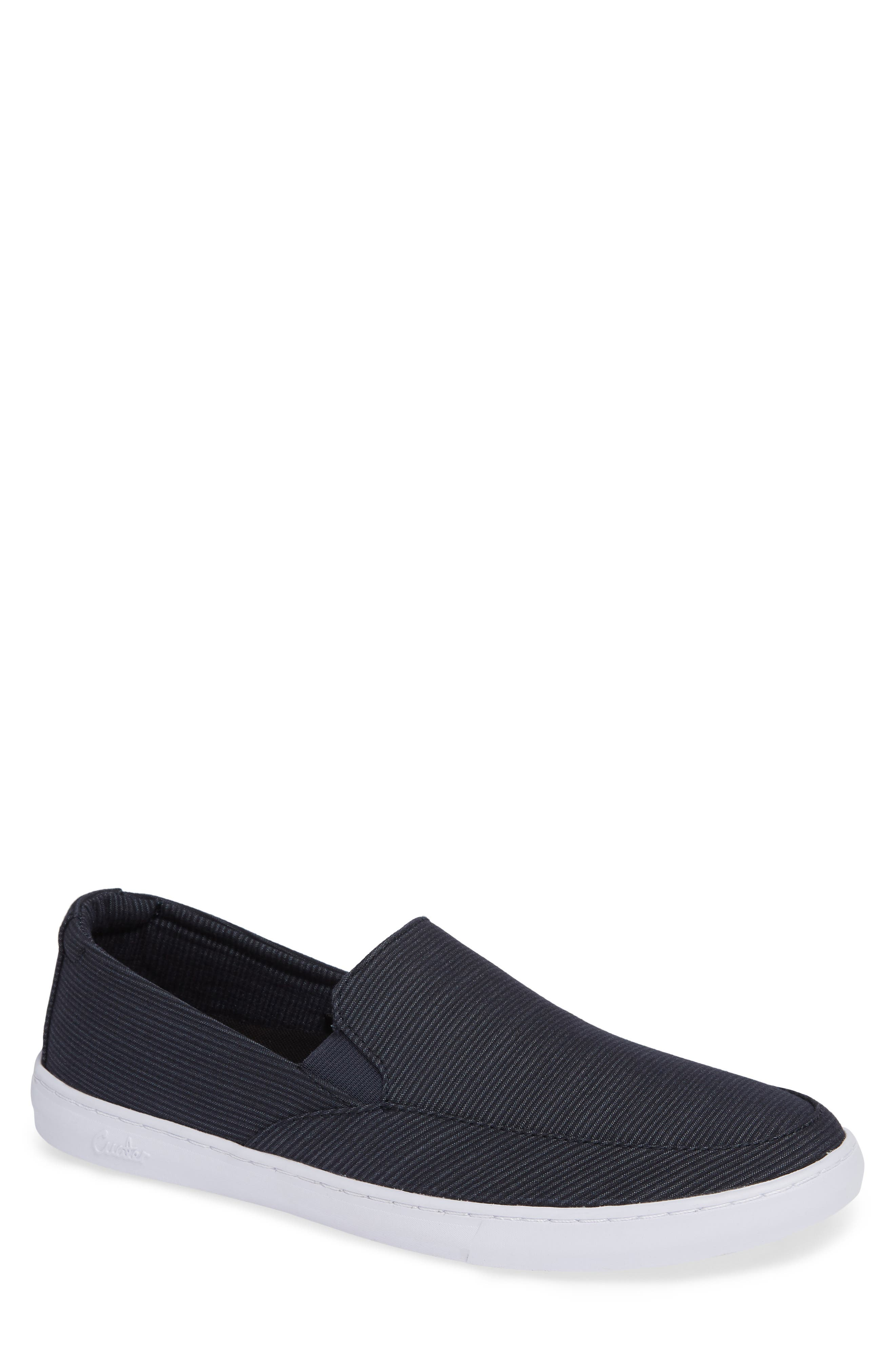 Cuater by Travis Mathew  Tracers Slip-On Sneaker,                         Main,                         color, BLUE NIGHTS