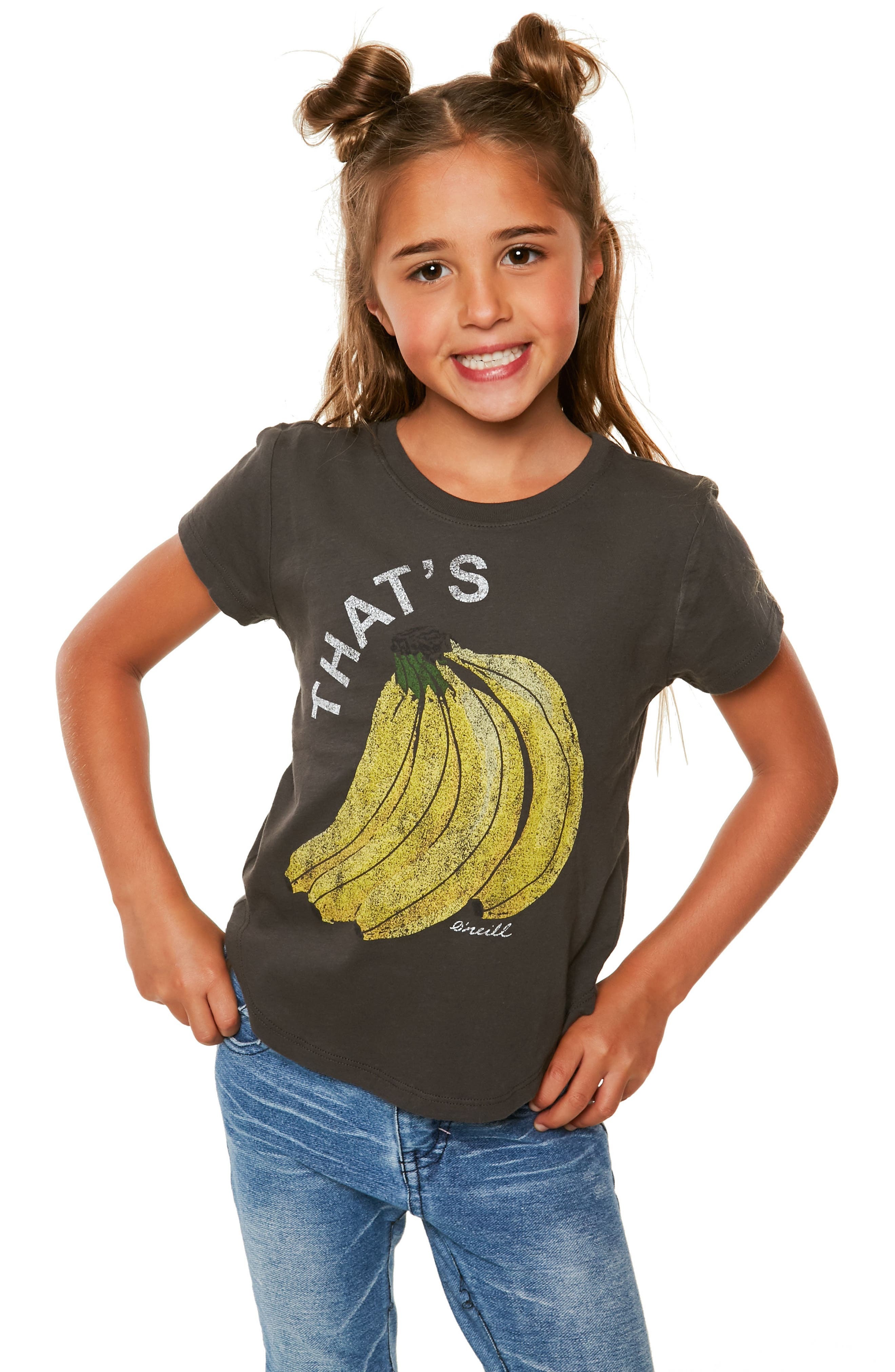 That's Bananas Graphic Tee,                             Alternate thumbnail 2, color,                             001