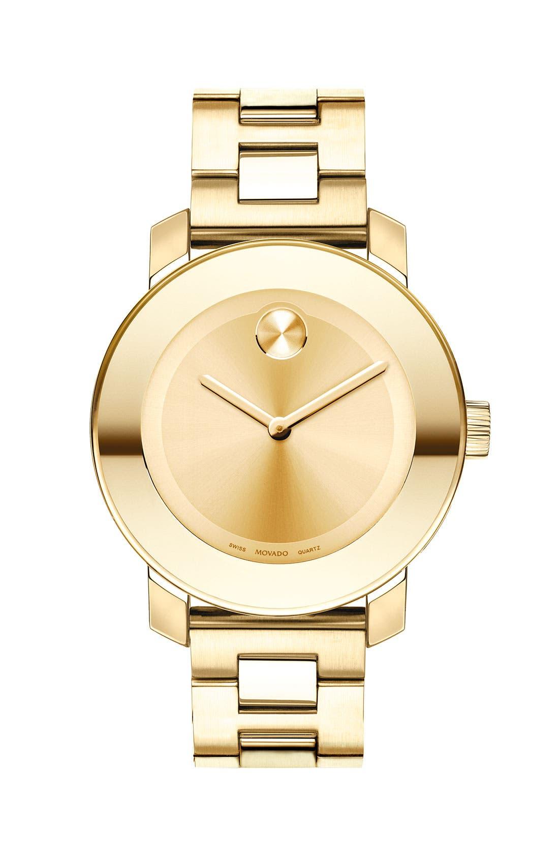 'Bold' Round Bracelet Watch, 36mm,                             Main thumbnail 4, color,