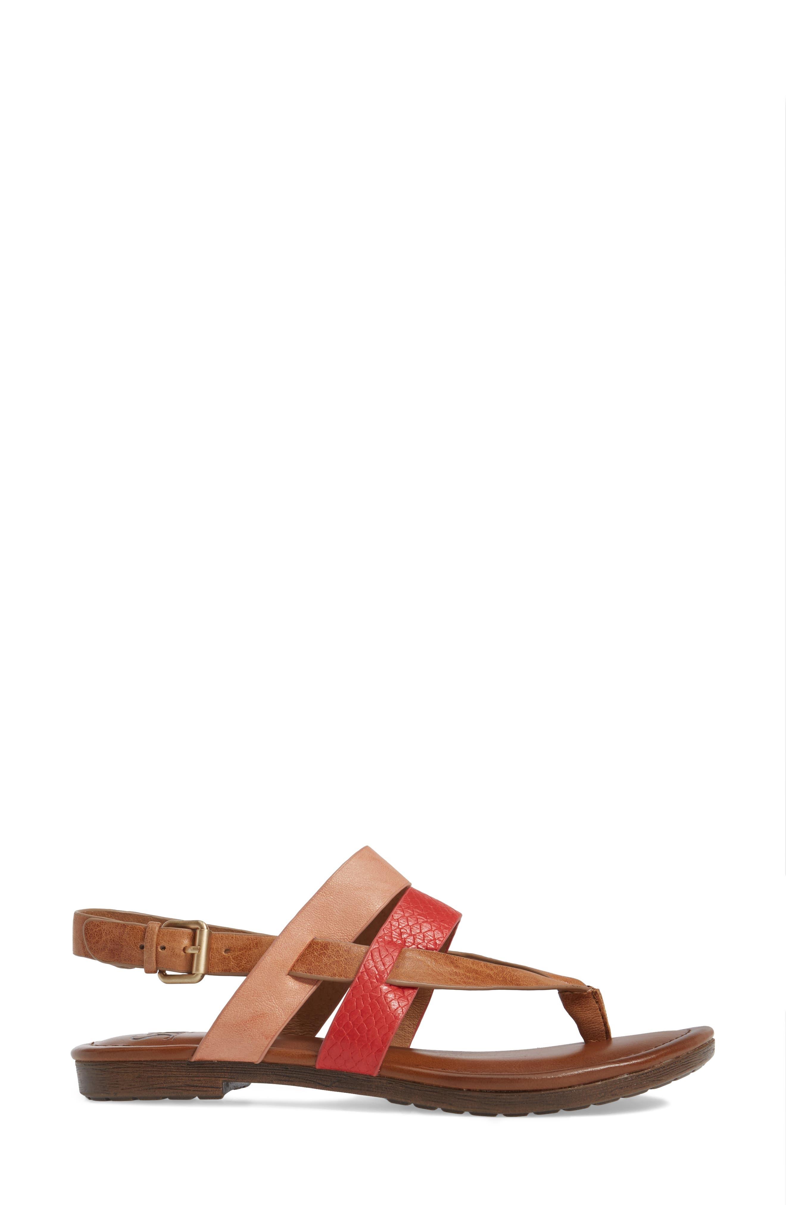 Bena Strappy Sandal,                             Alternate thumbnail 8, color,