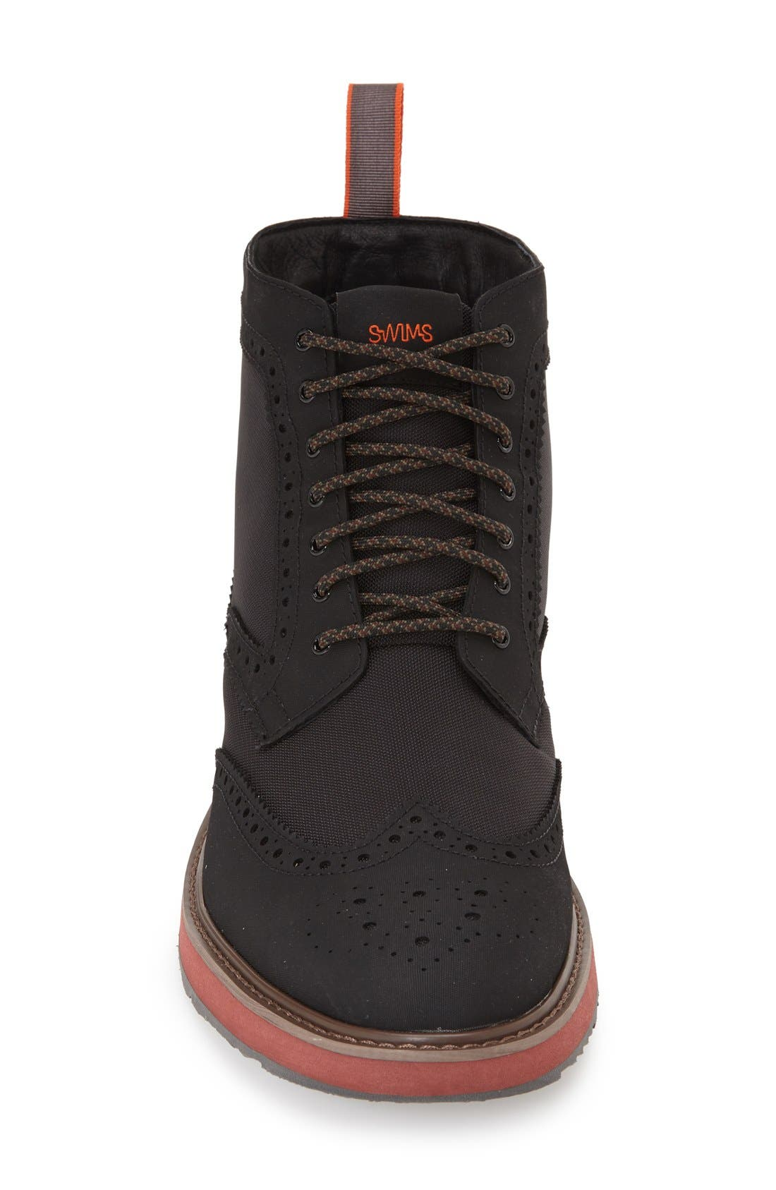 'Barry' Wingtip Boot,                             Alternate thumbnail 2, color,                             001