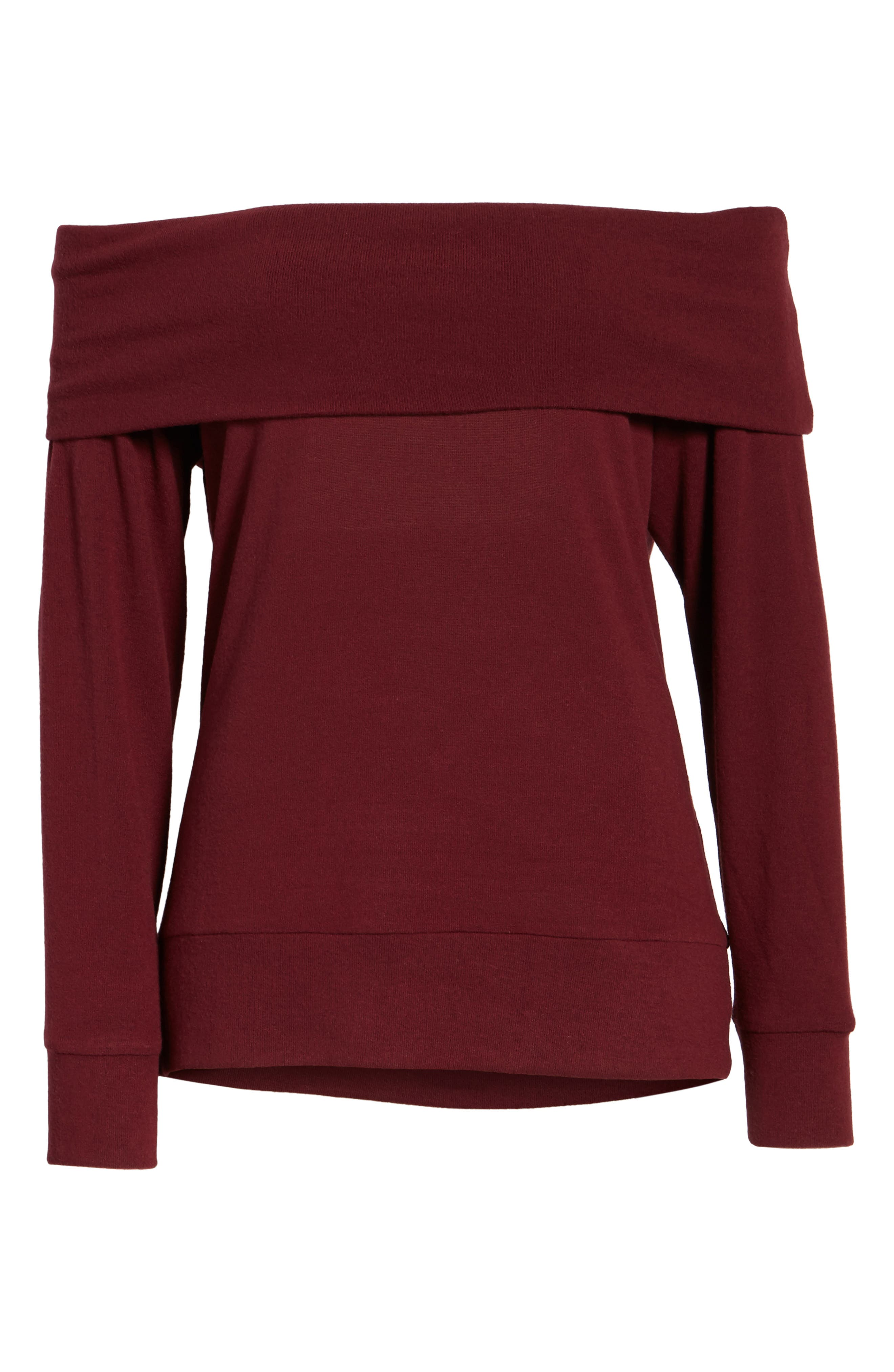 'Brooklyn' Off the Shoulder Top,                             Alternate thumbnail 27, color,