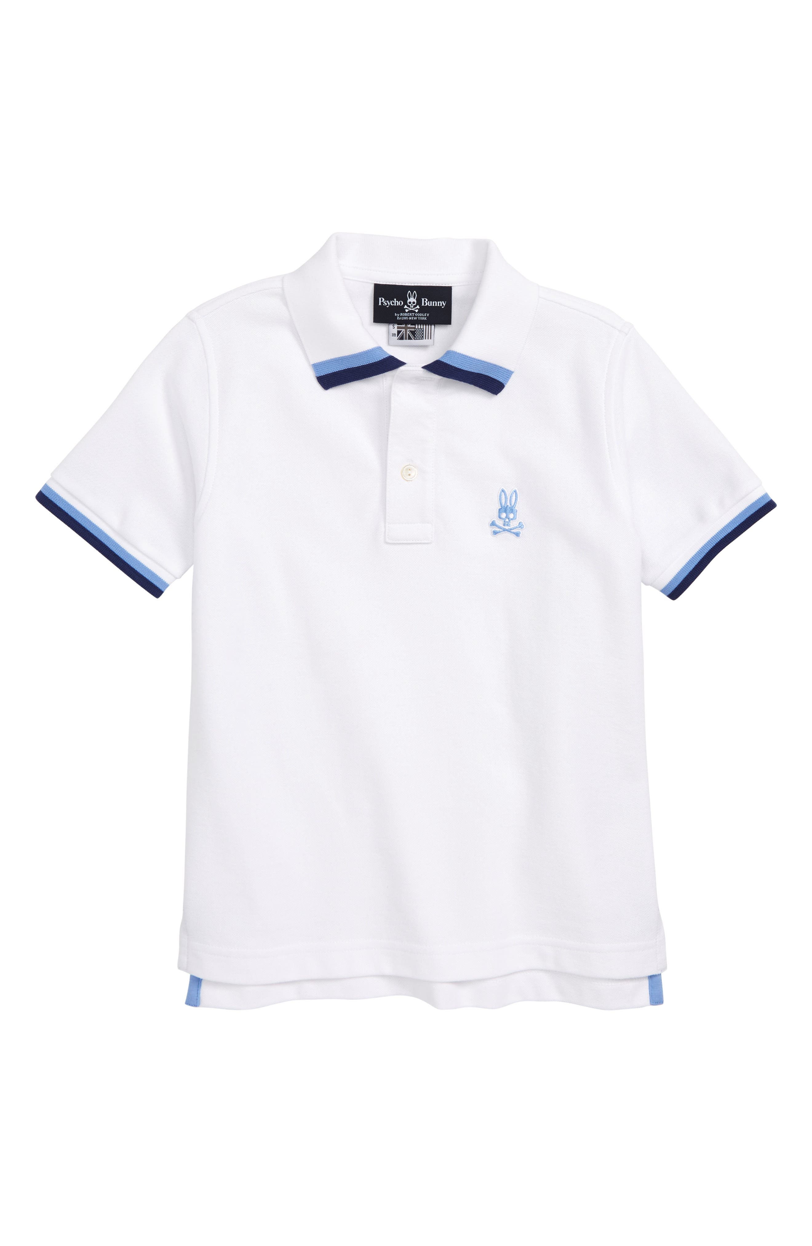 Marlow Polo, Main, color, WHITE