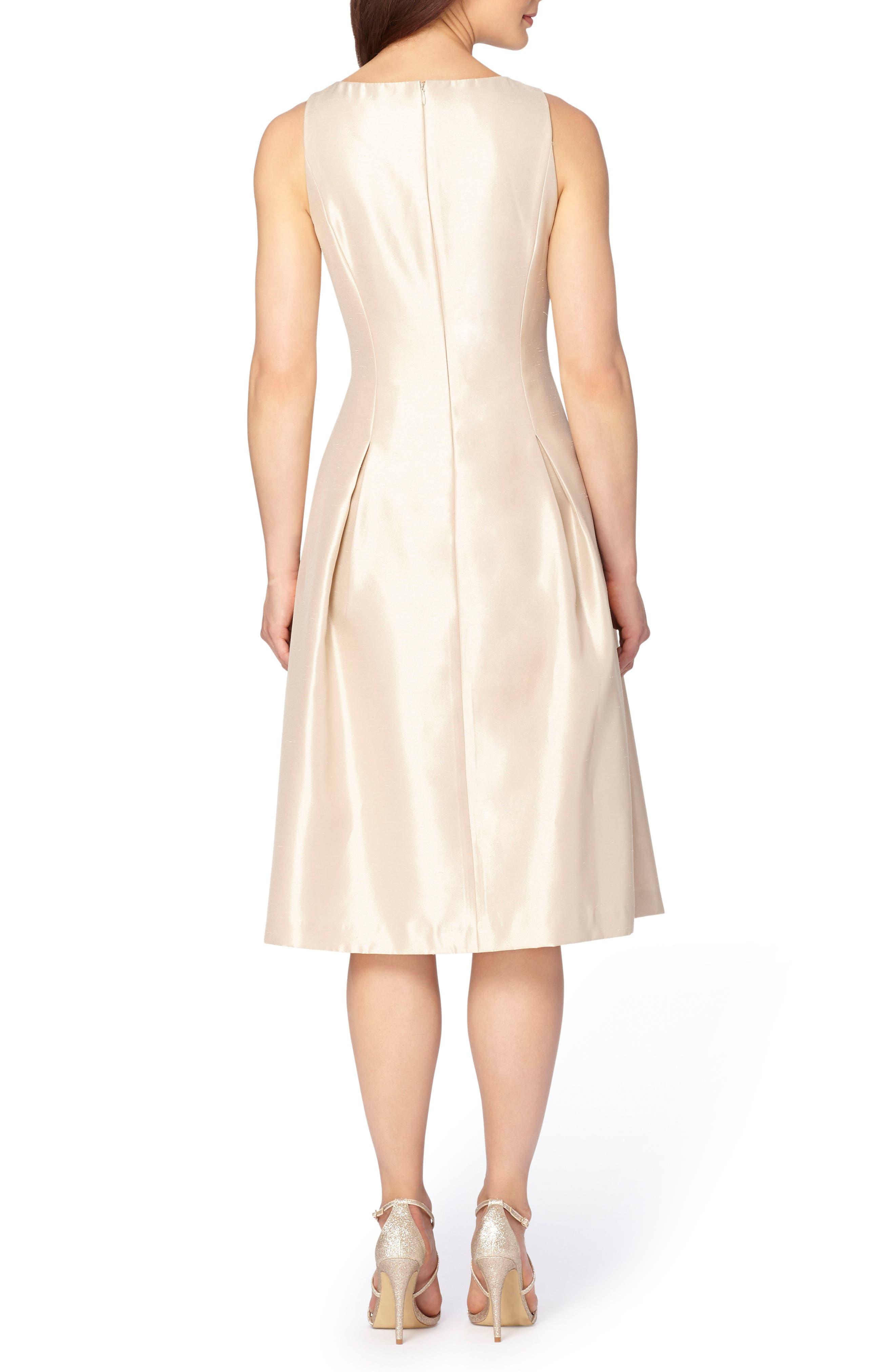 Embellished Fit & Flare Dress,                             Alternate thumbnail 3, color,                             250