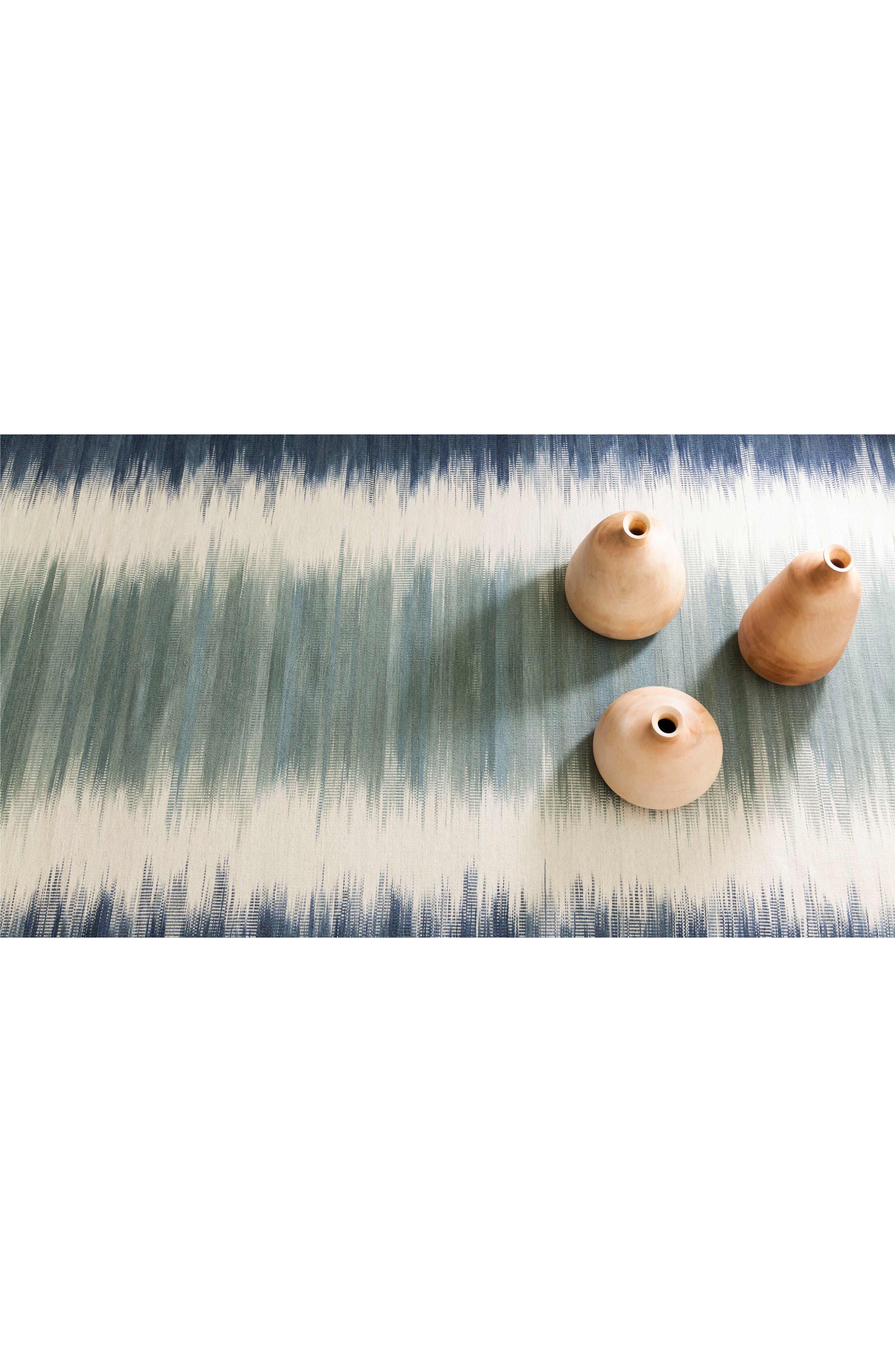Sombre Kilim Wool-Blend Rug,                             Alternate thumbnail 3, color,                             400