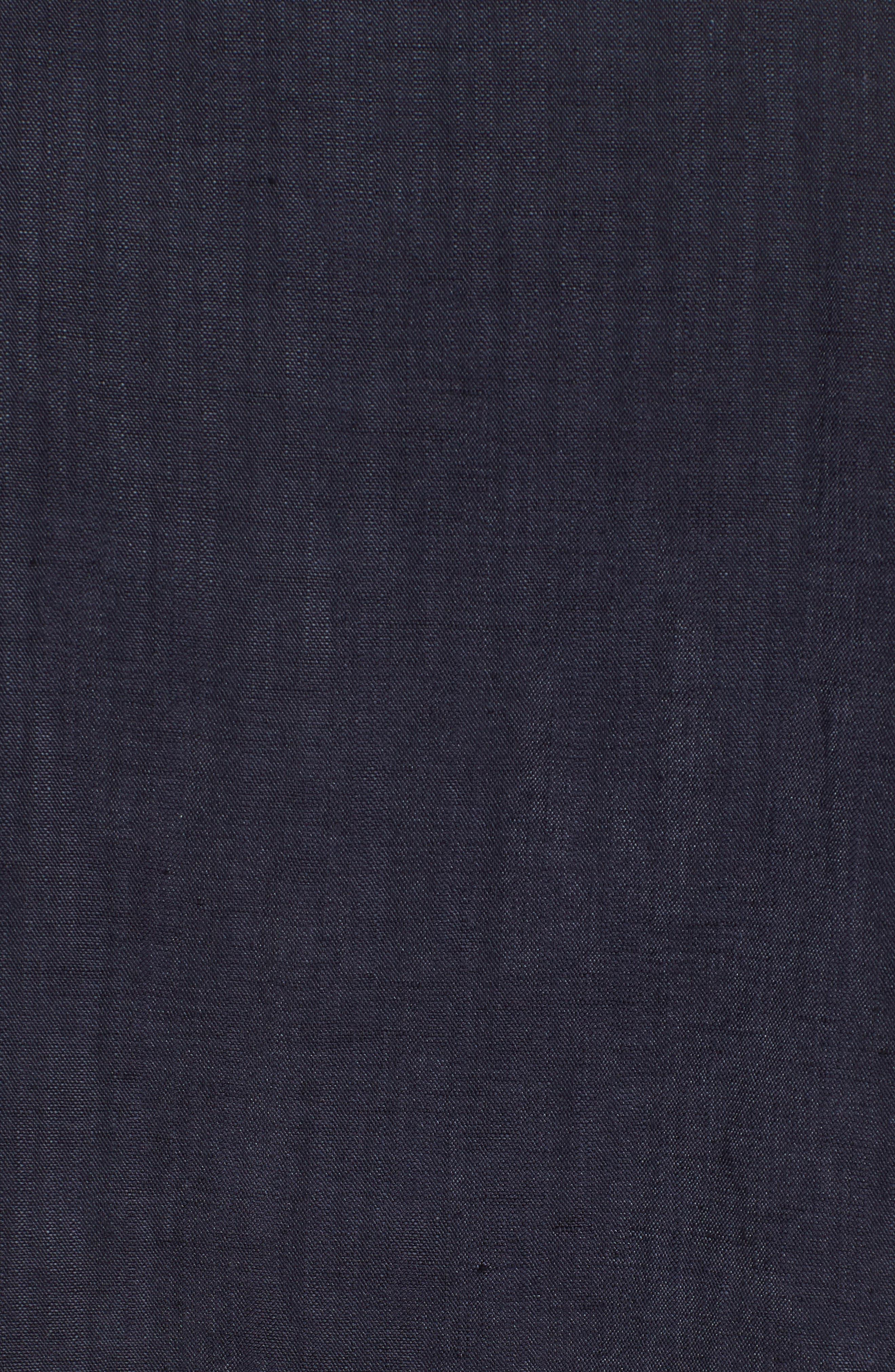Halifax Drawstring Jacket,                             Alternate thumbnail 7, color,                             NAVY