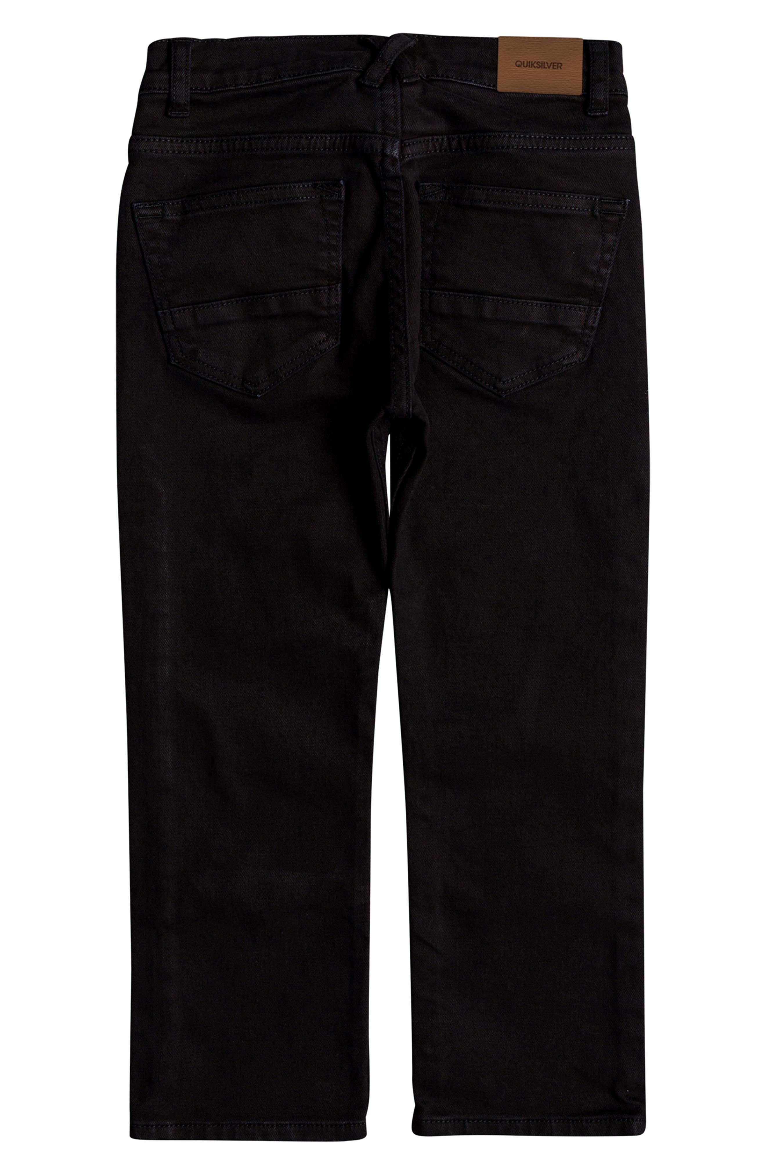 Distorsion Colors Slim Fit Straight Leg Jeans,                             Alternate thumbnail 2, color,                             TARMAC