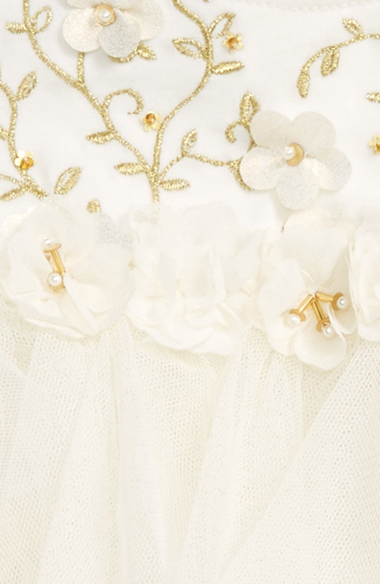 Embroidered Bodice Dress,                             Alternate thumbnail 2, color,