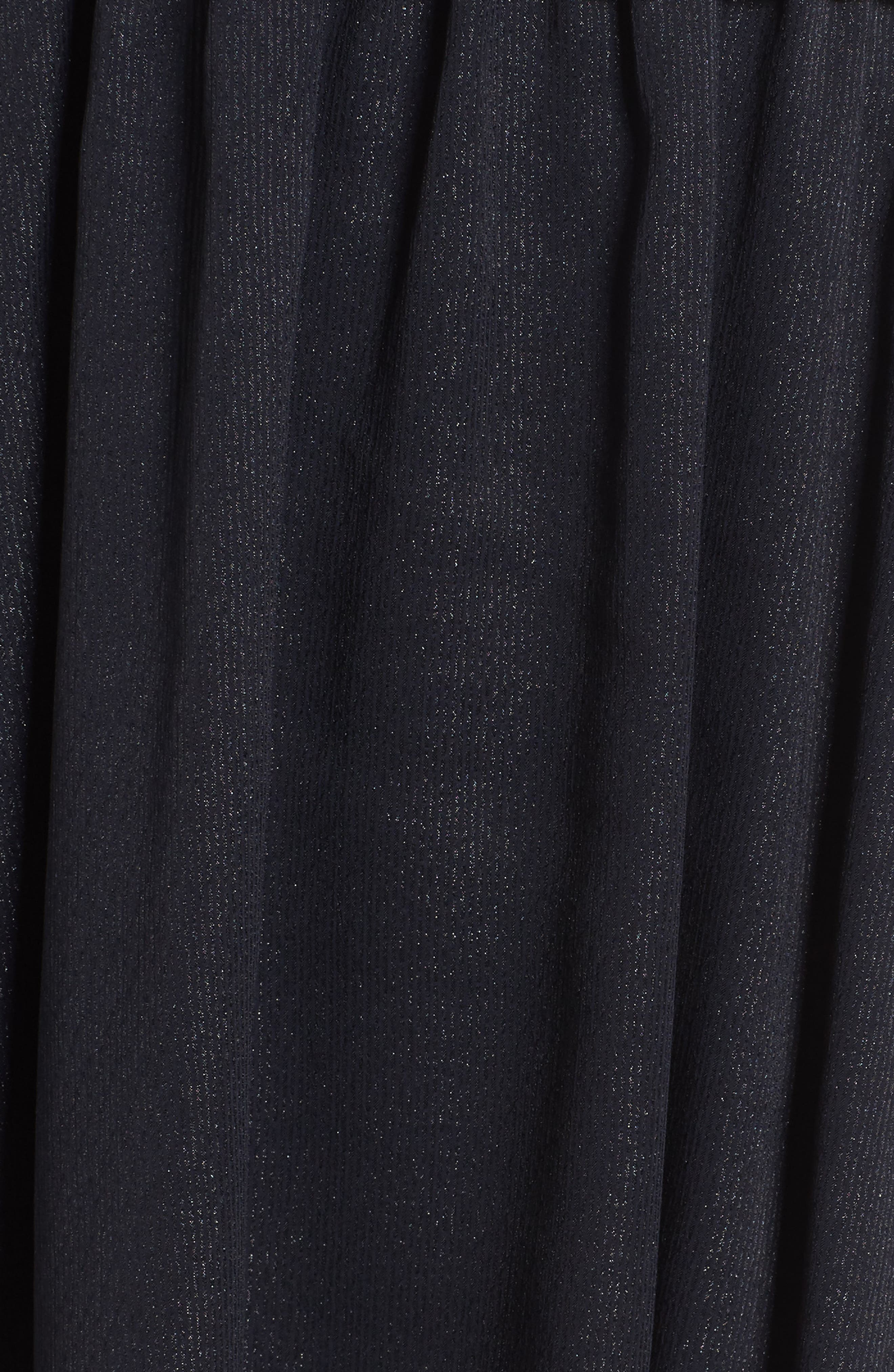Smocked Long Sleeve Dress,                             Alternate thumbnail 5, color,                             410
