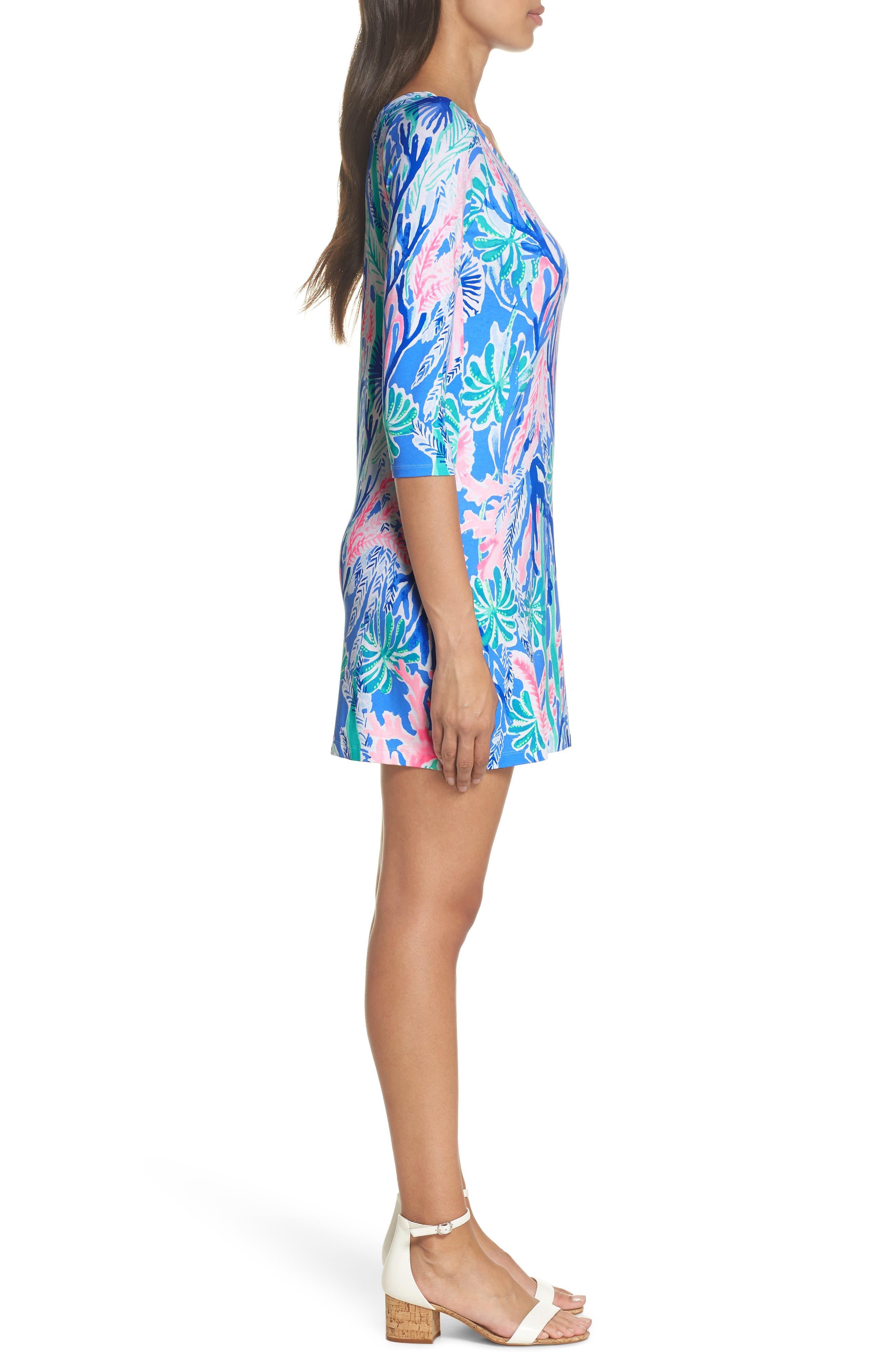 One-Shoulder Minidress,                             Alternate thumbnail 3, color,                             400