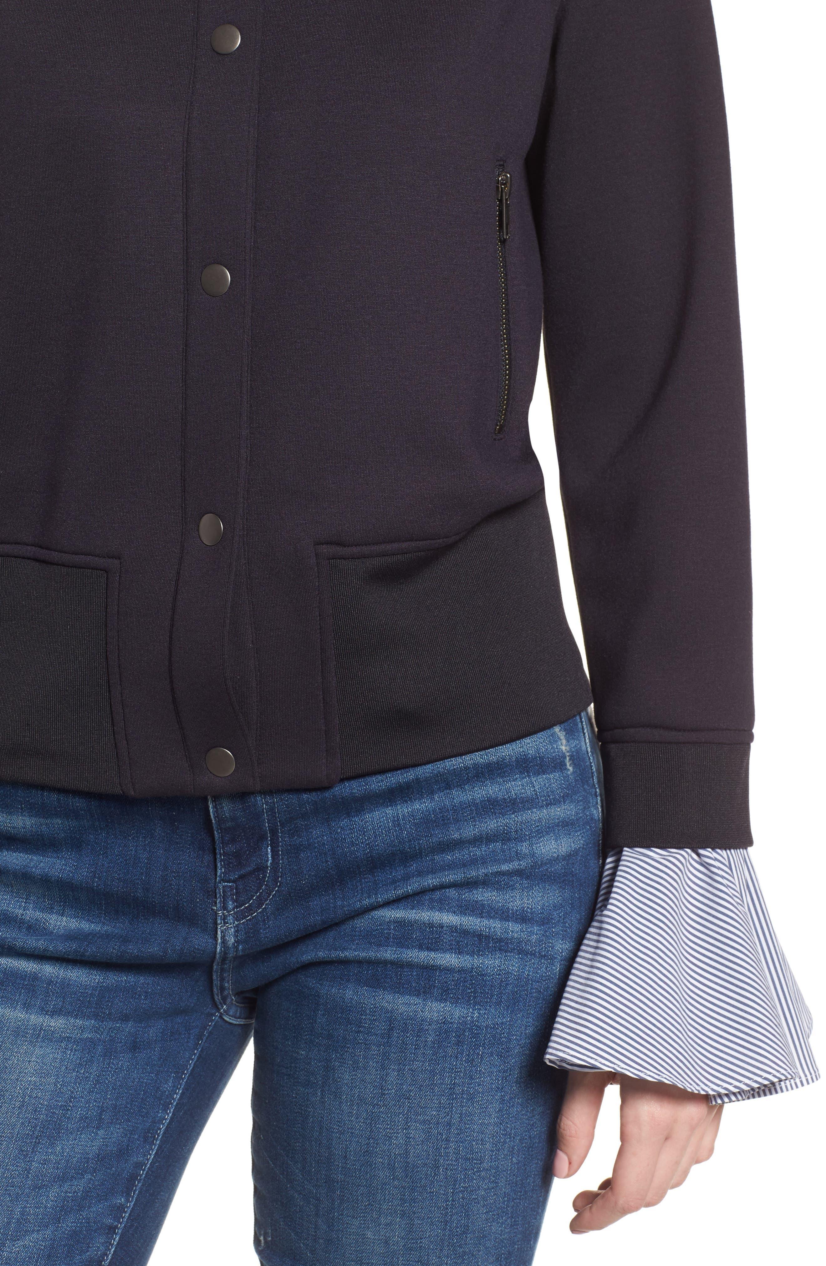 Ruffle Sleeve Jacket,                             Alternate thumbnail 4, color,                             410