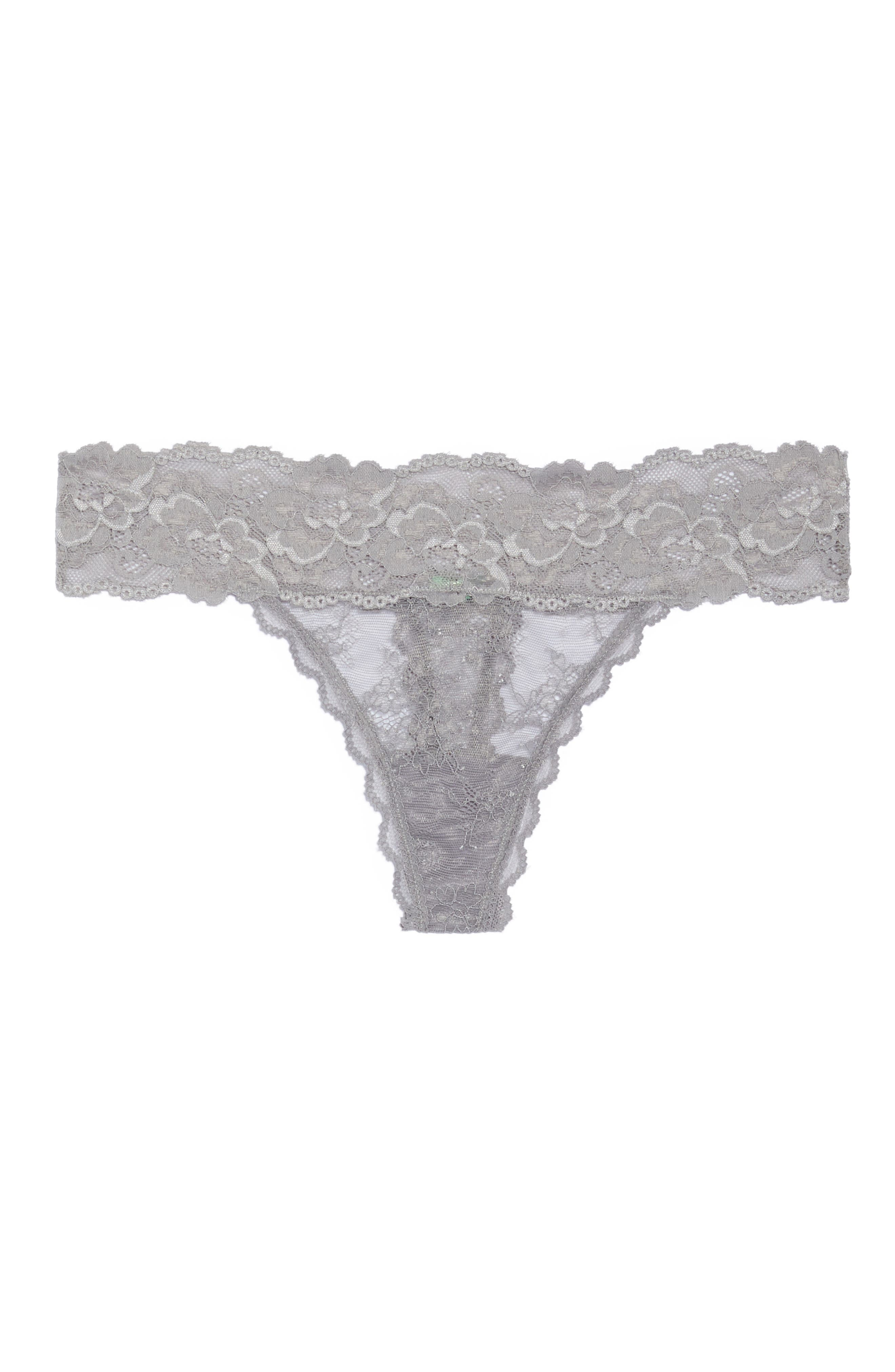 Honeydew Lace Thong,                             Alternate thumbnail 78, color,