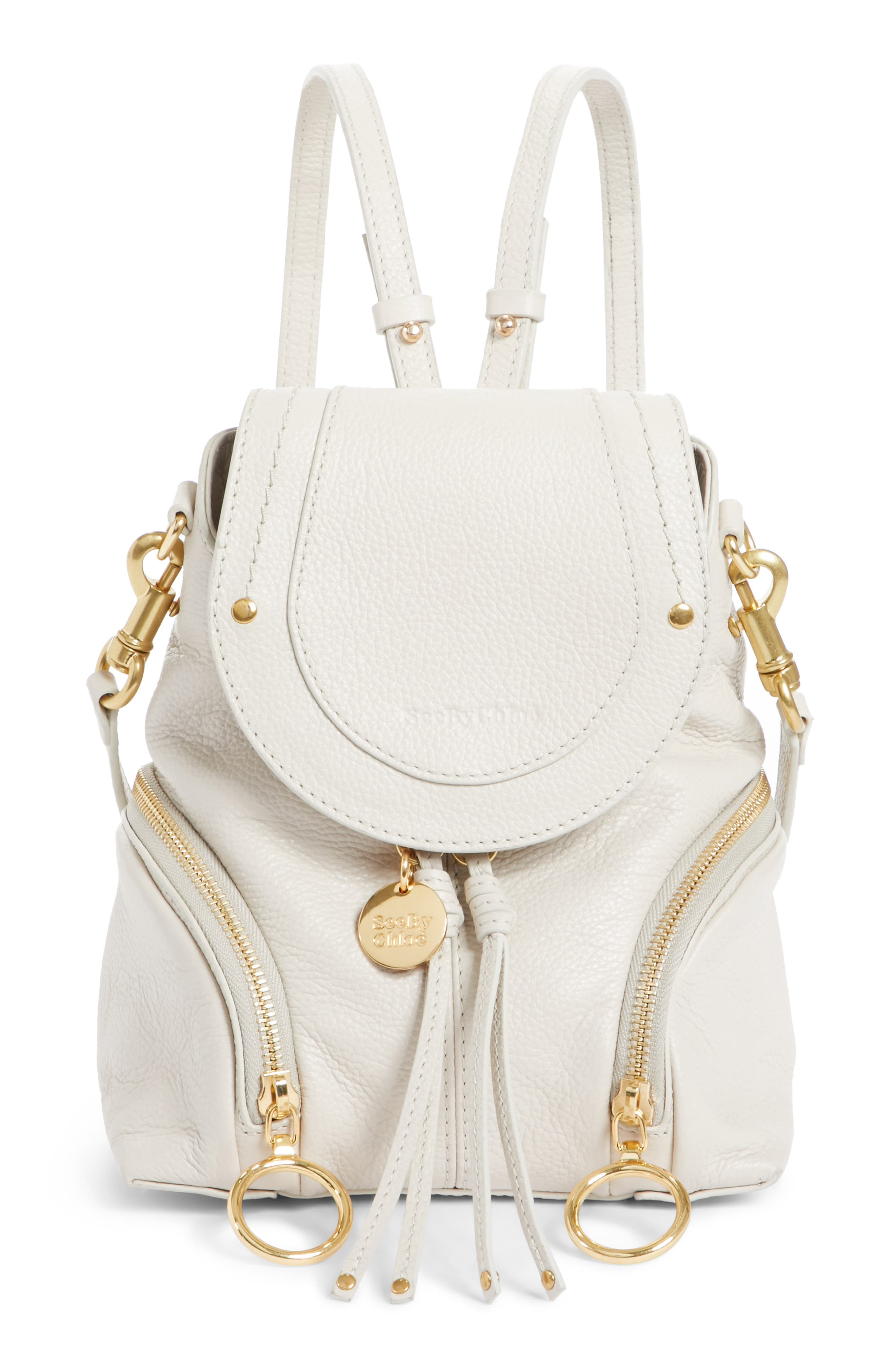 See By Chloe Small Olga Leather Backpack -
