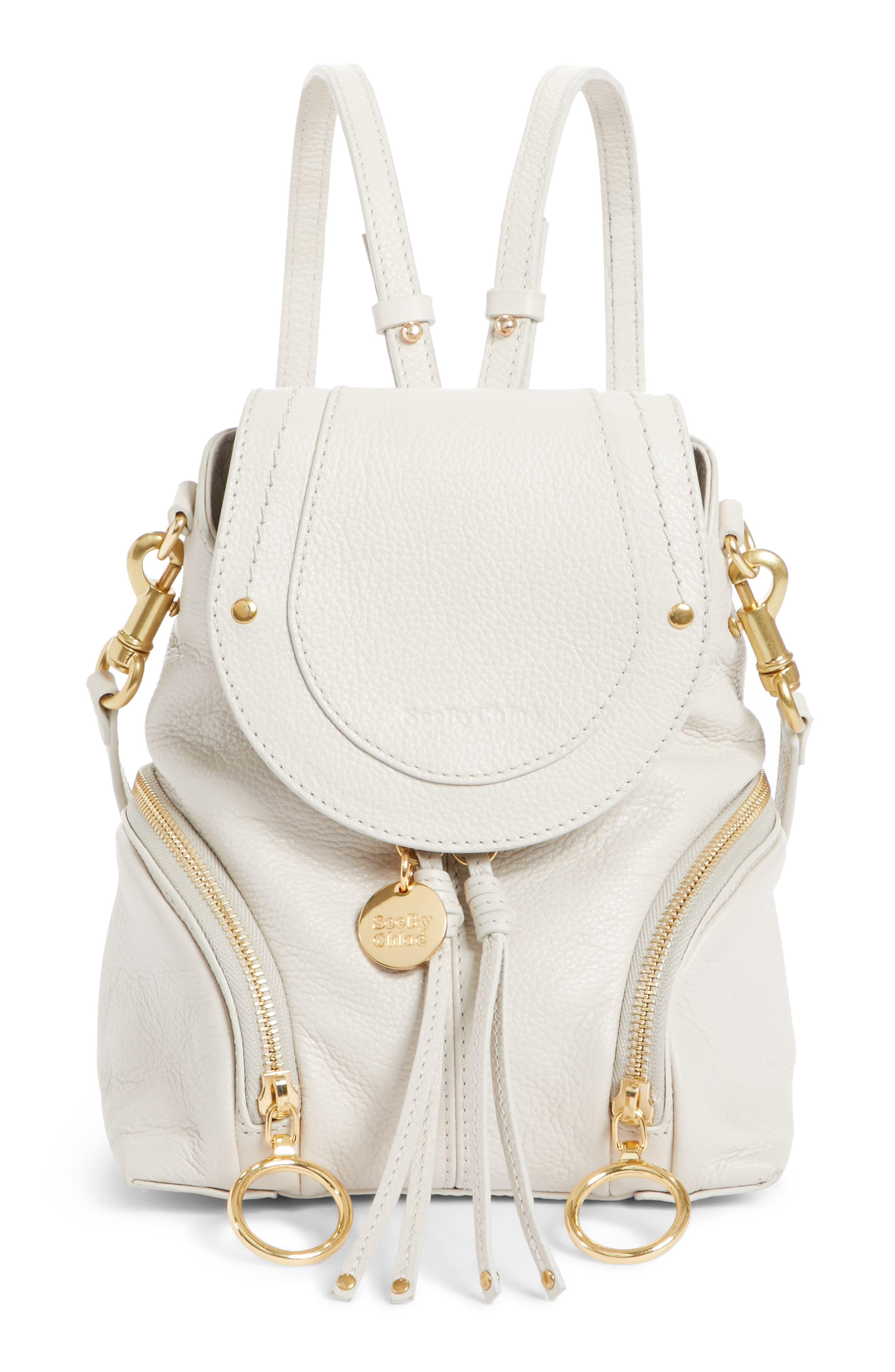 Small Olga Leather Backpack,                             Main thumbnail 3, color,