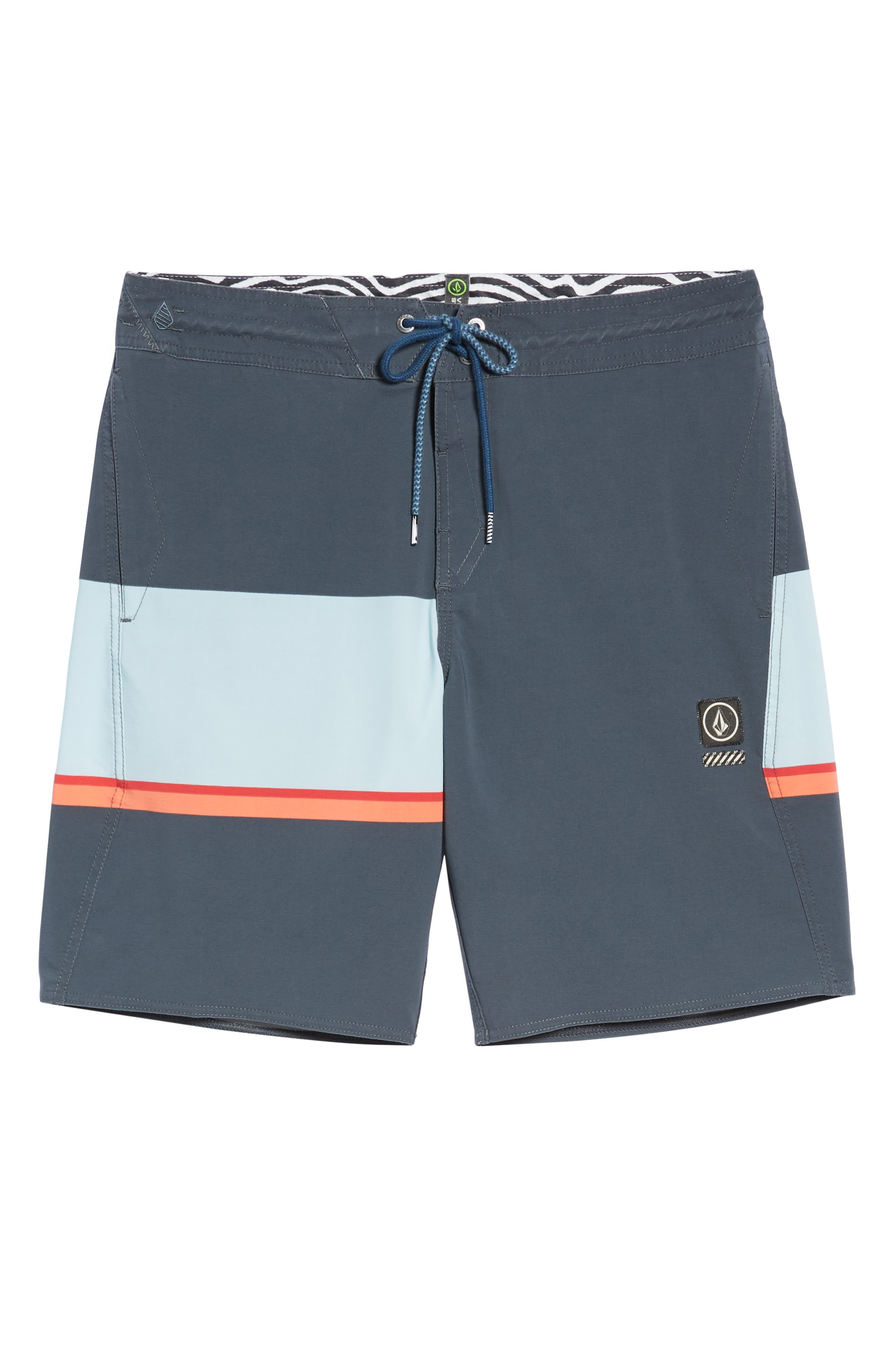 3 Quarta Stoney Board Shorts,                             Alternate thumbnail 6, color,                             MEDIUM BLUE