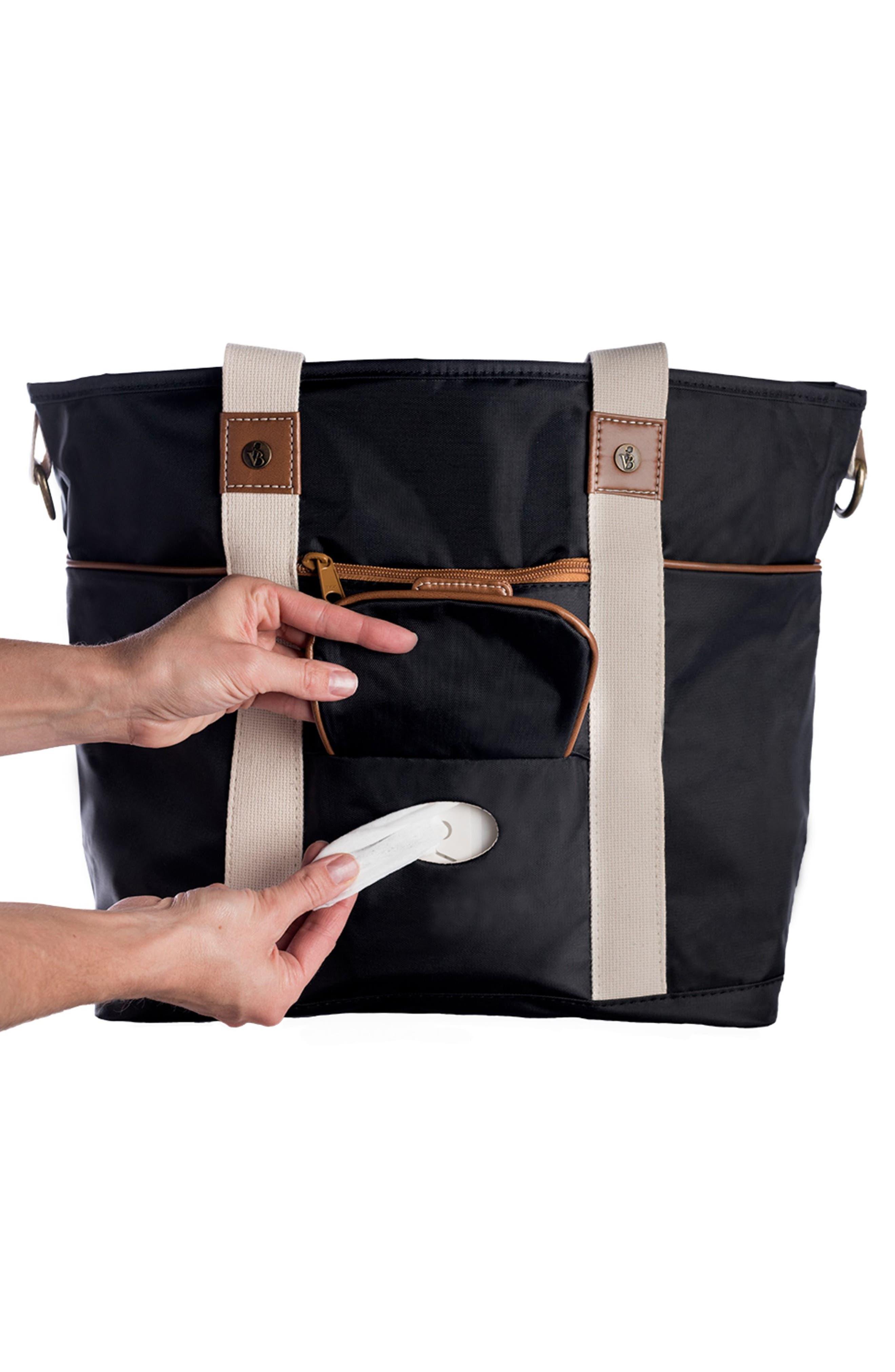 Harbor Side Tote Diaper Bag,                             Alternate thumbnail 6, color,                             001