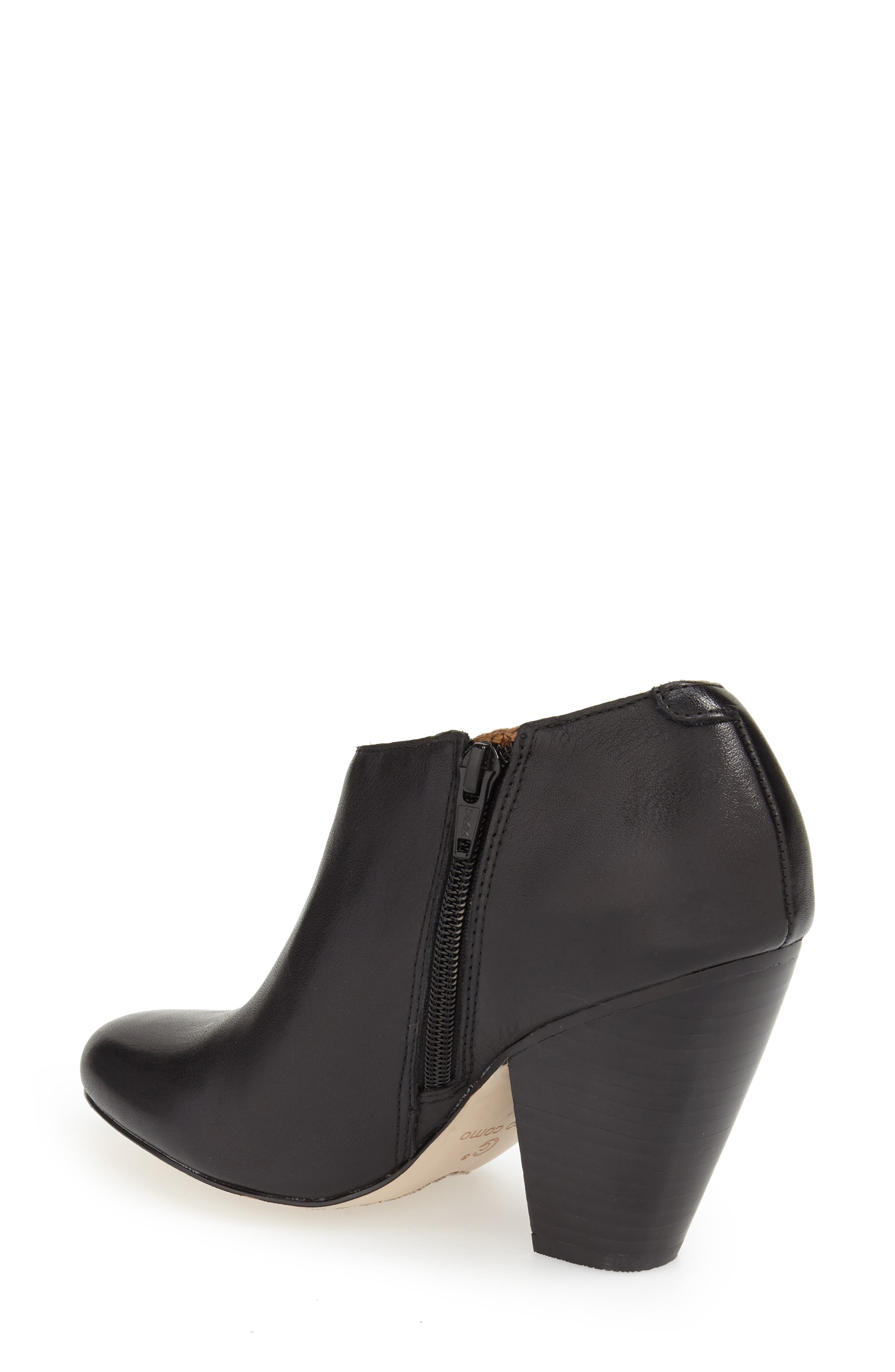 'Yonkers' Almond Toe Cutout Bootie,                             Alternate thumbnail 6, color,                             004