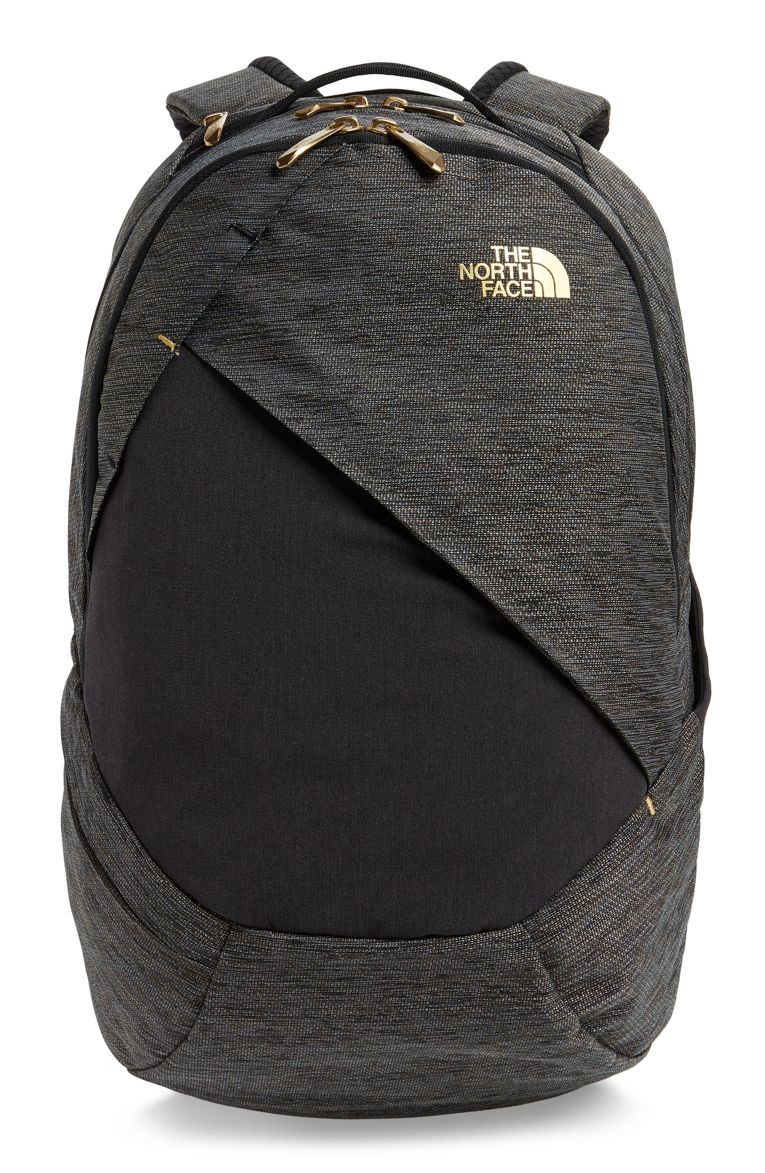 'Isabella' Backpack,                         Main,                         color, TNF BLACK BRASS MELANGE