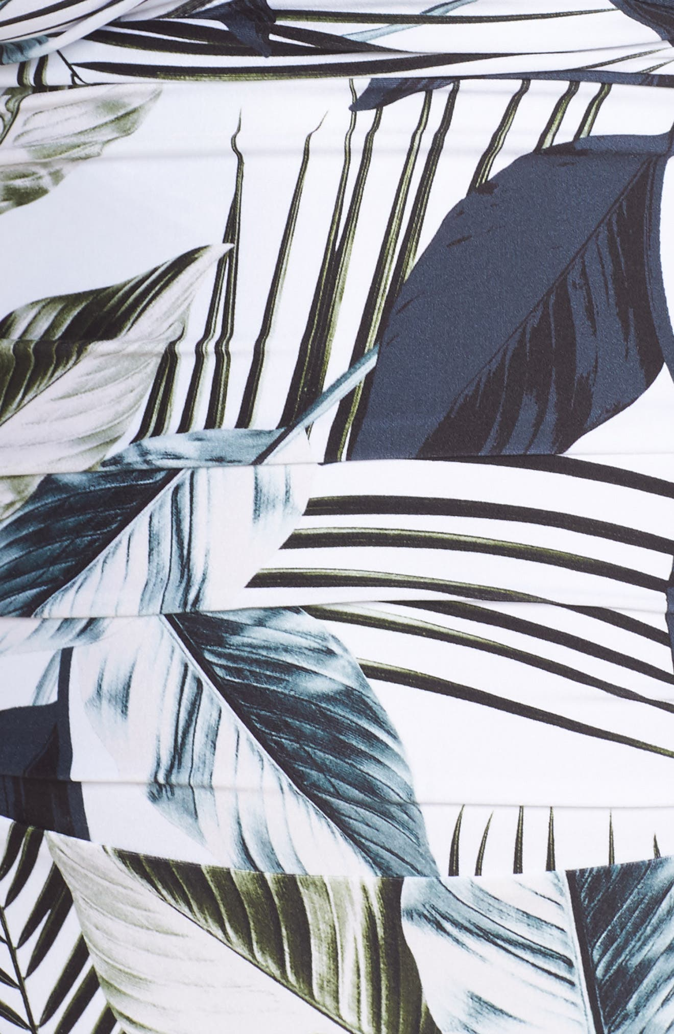 Bandeau One-Piece Swimsuit,                             Alternate thumbnail 6, color,                             BLUE