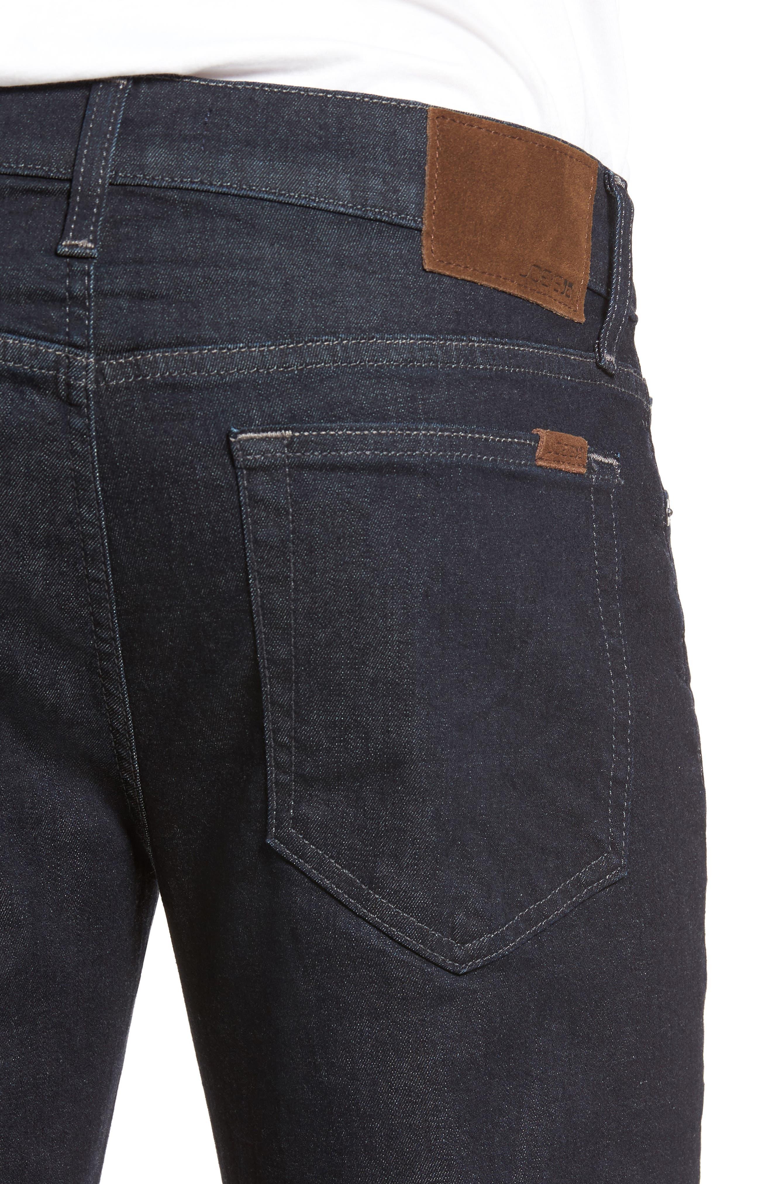 Slim Slim Fit Jeans,                             Alternate thumbnail 4, color,                             NUHOLLIS